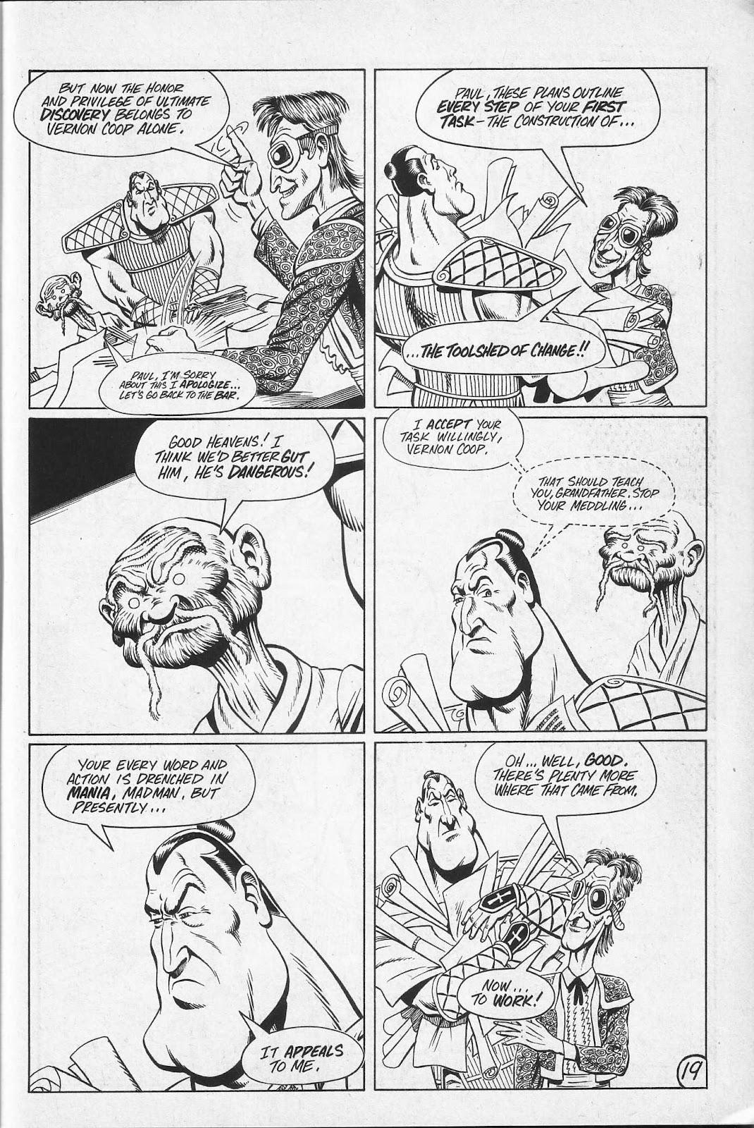 Read online Paul the Samurai (1991) comic -  Issue # TPB - 85