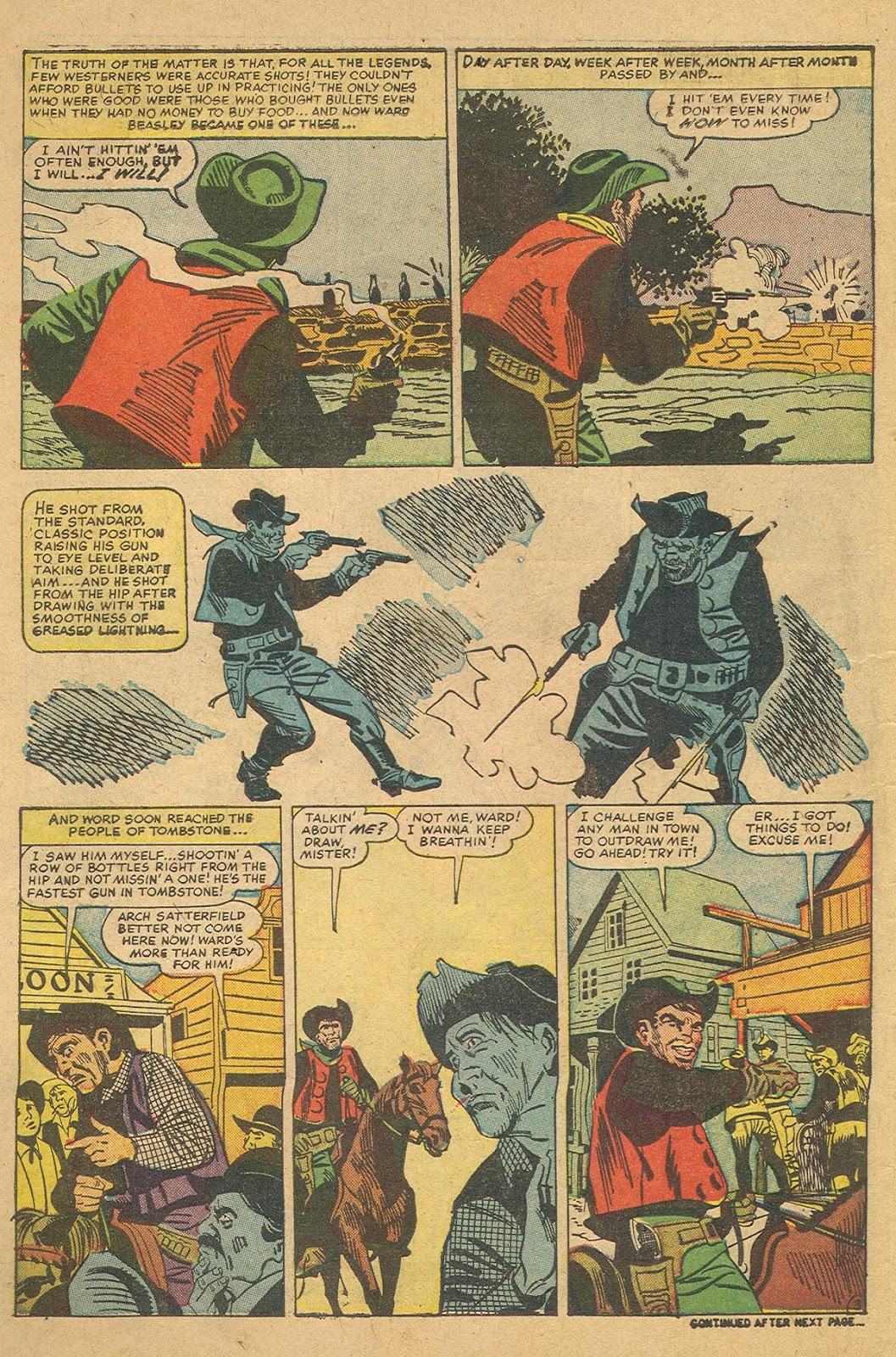 Gunsmoke Western issue 44 - Page 10