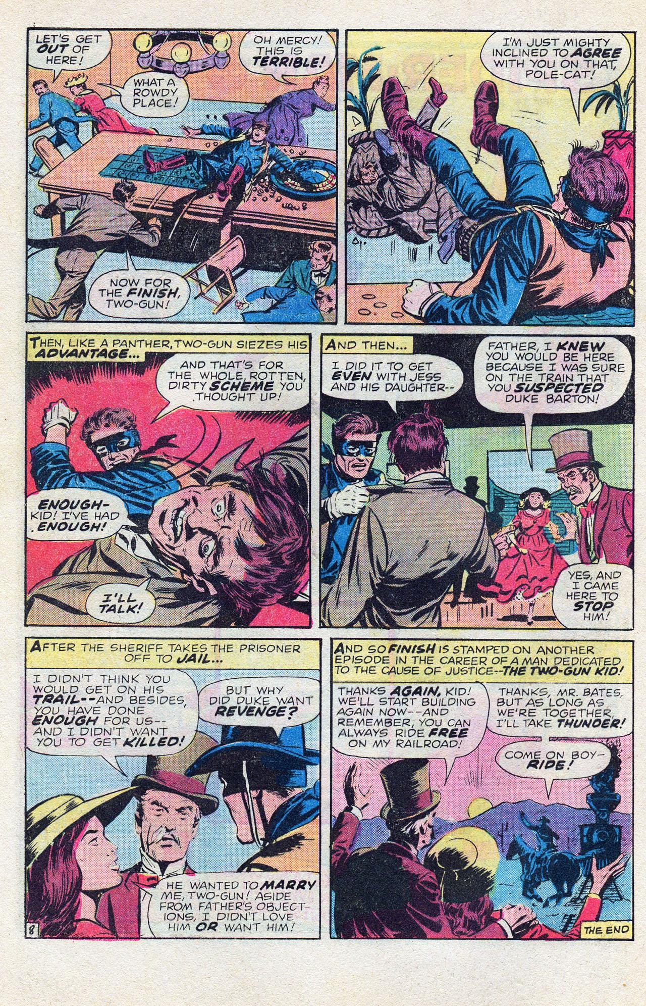 Read online Two-Gun Kid comic -  Issue #128 - 32