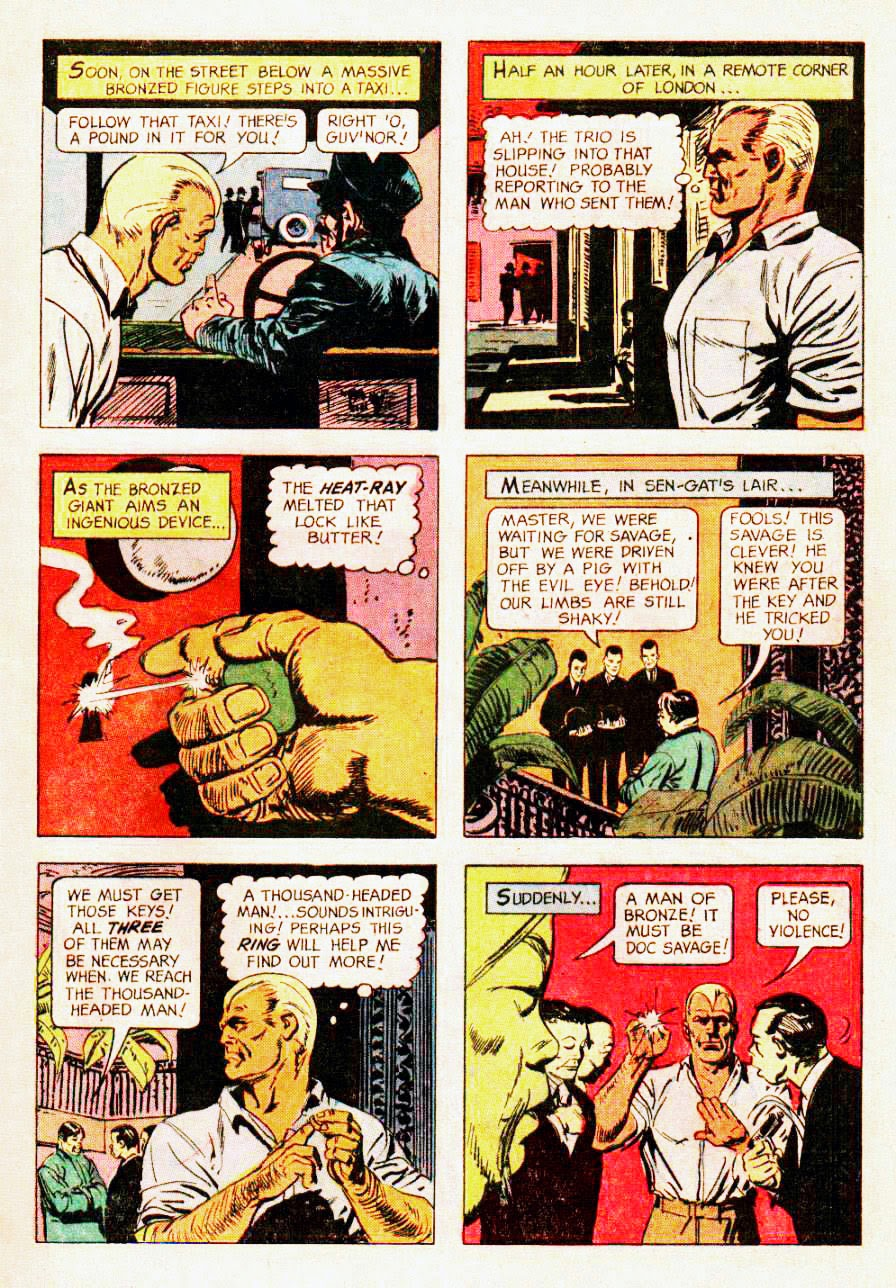 Read online Doc Savage (1966) comic -  Issue # Full - 9