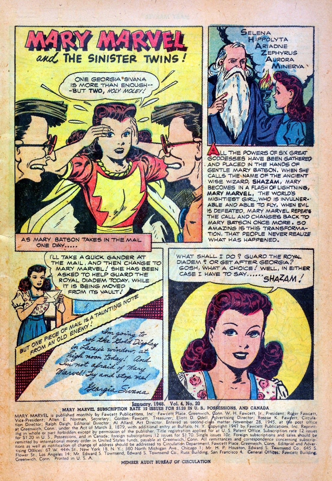 Read online Mary Marvel comic -  Issue #20 - 3