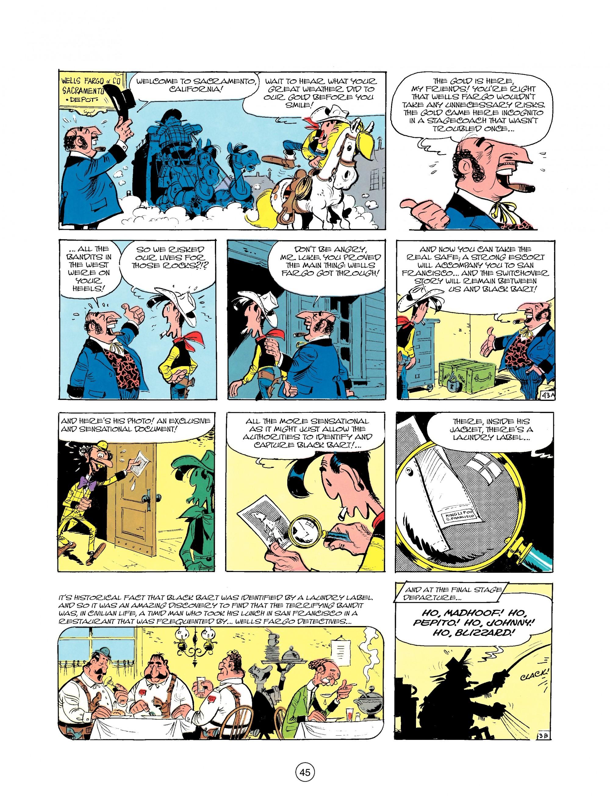 Read online A Lucky Luke Adventure comic -  Issue #25 - 45