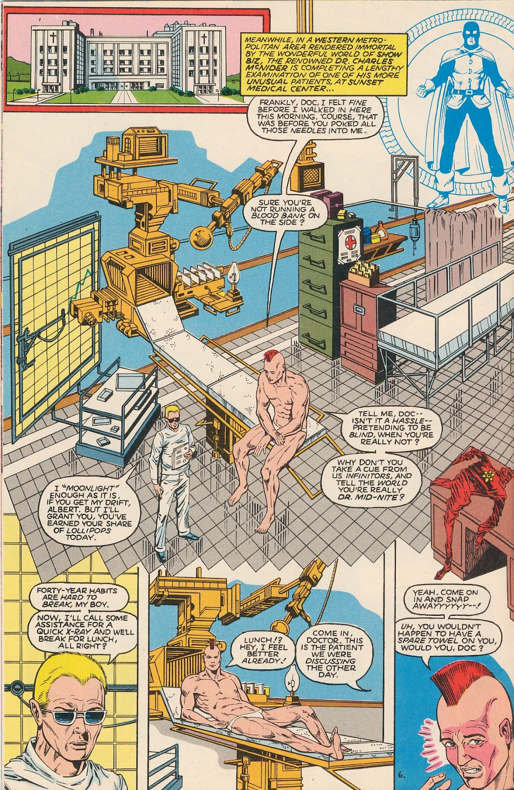 Infinity Inc. (1984) issue 20 - Page 10