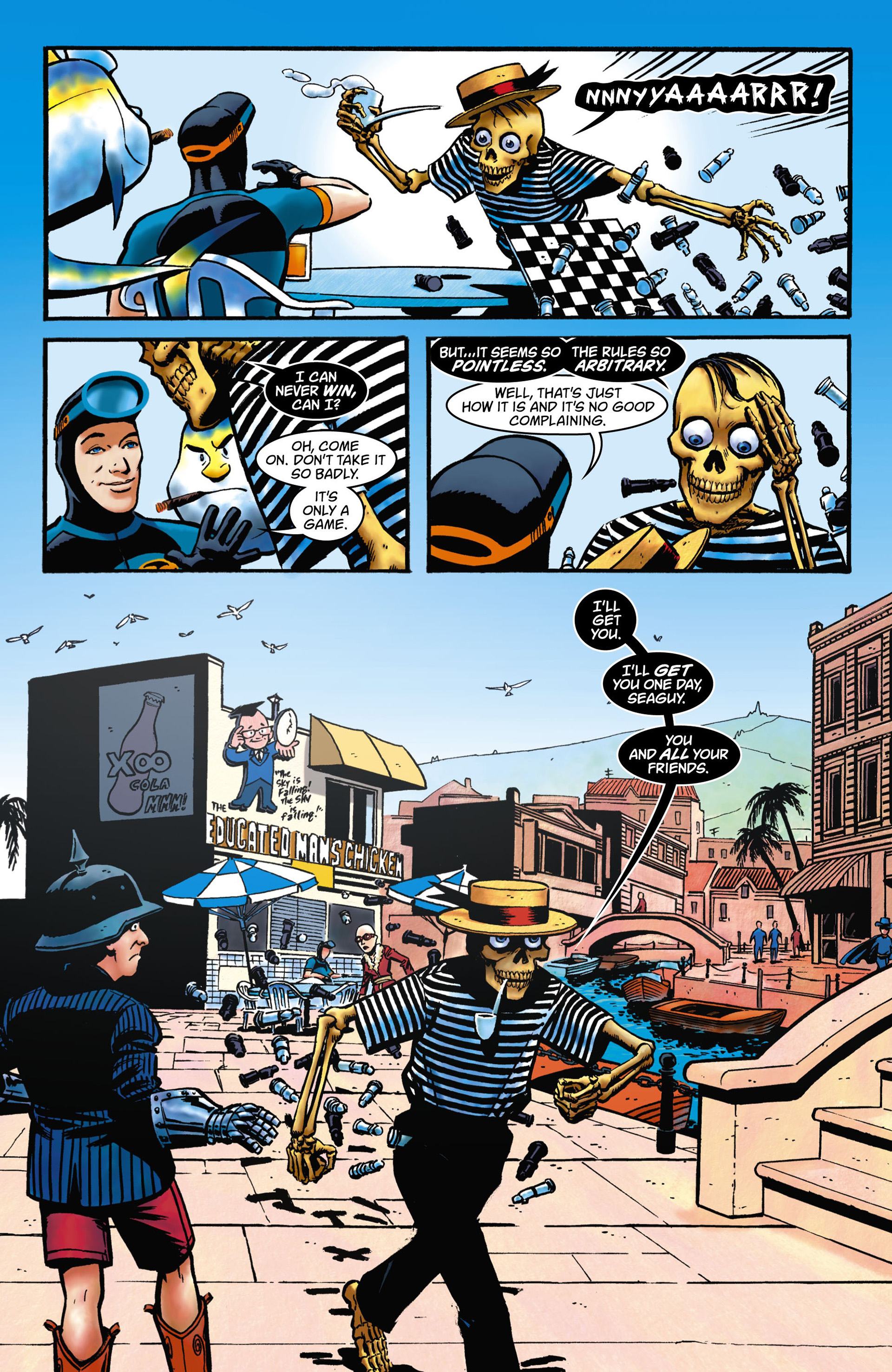 Read online Seaguy comic -  Issue #1 - 4