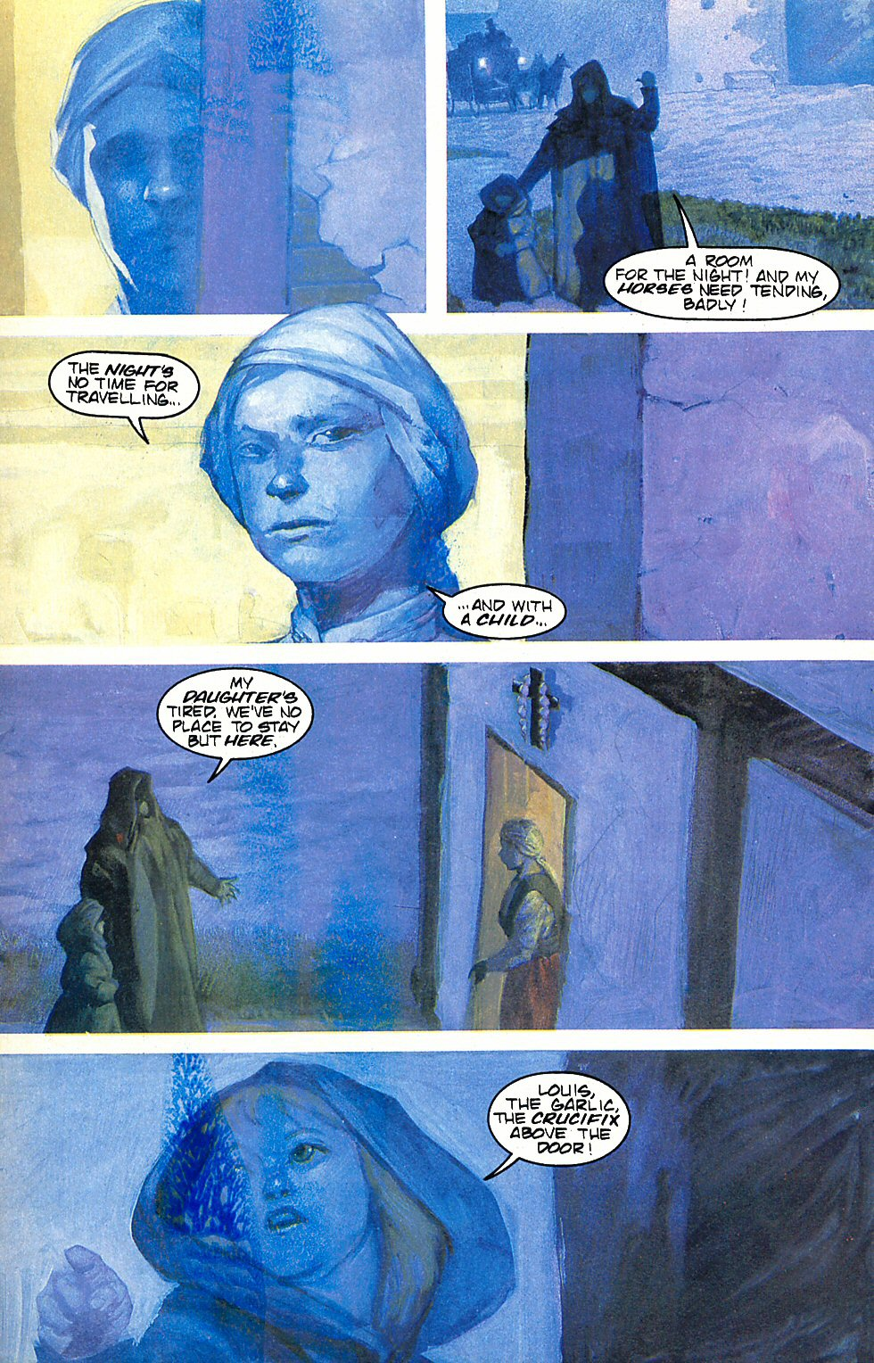 Read online Anne Rice's Interview with the Vampire comic -  Issue #6 - 22