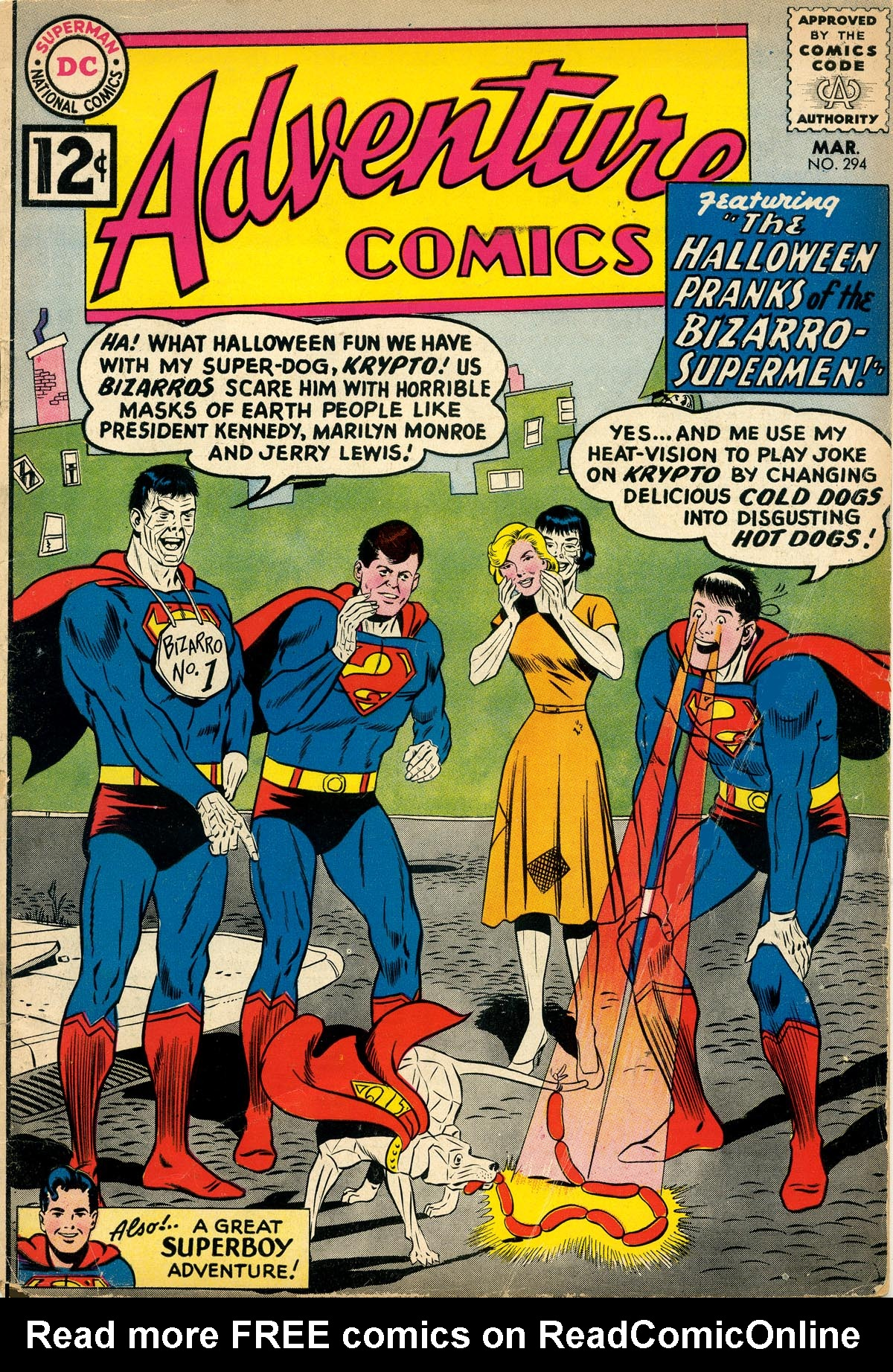 Read online Adventure Comics (1938) comic -  Issue #294 - 1