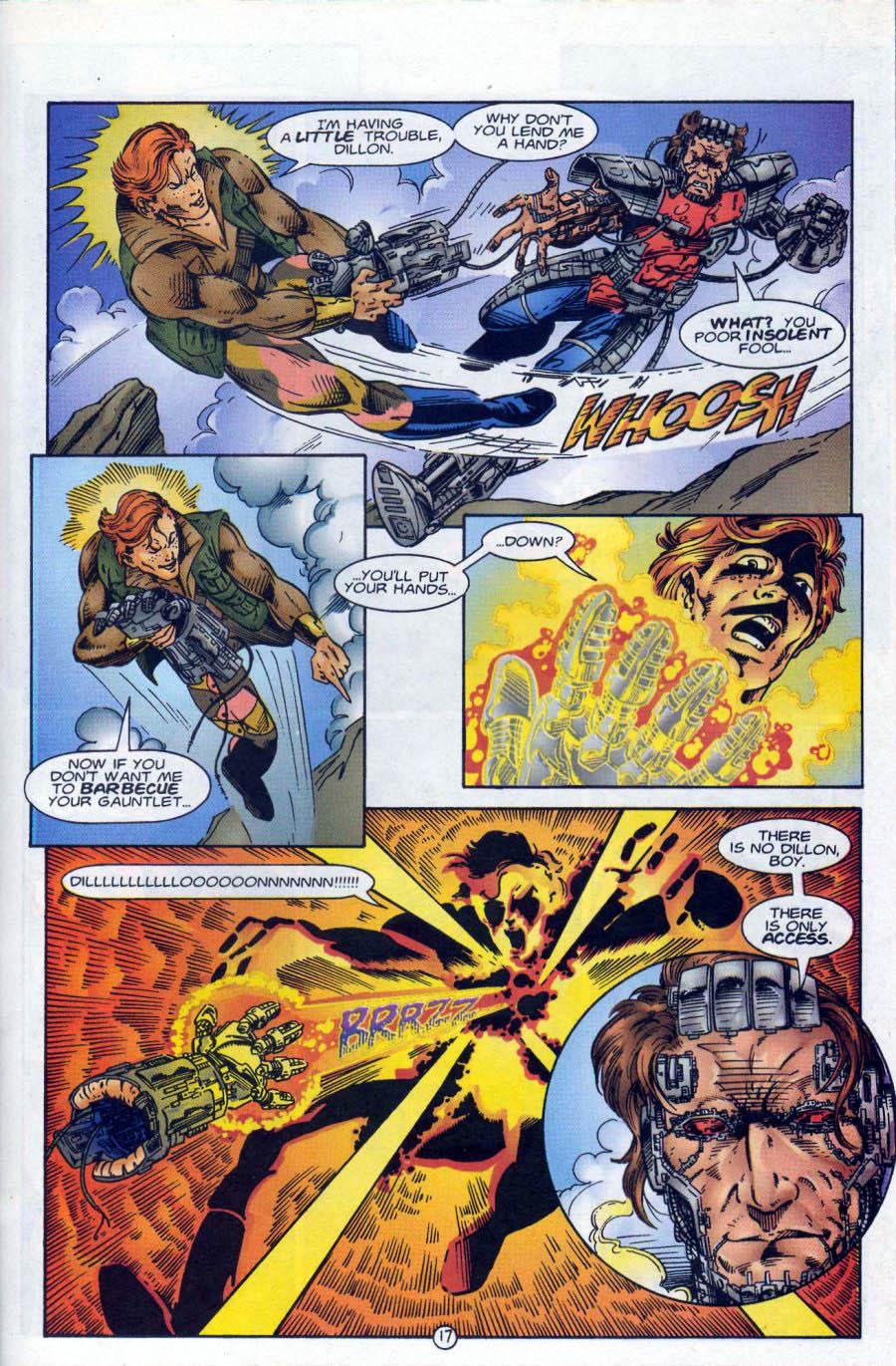 Read online Ex-Mutants comic -  Issue #18 - 17