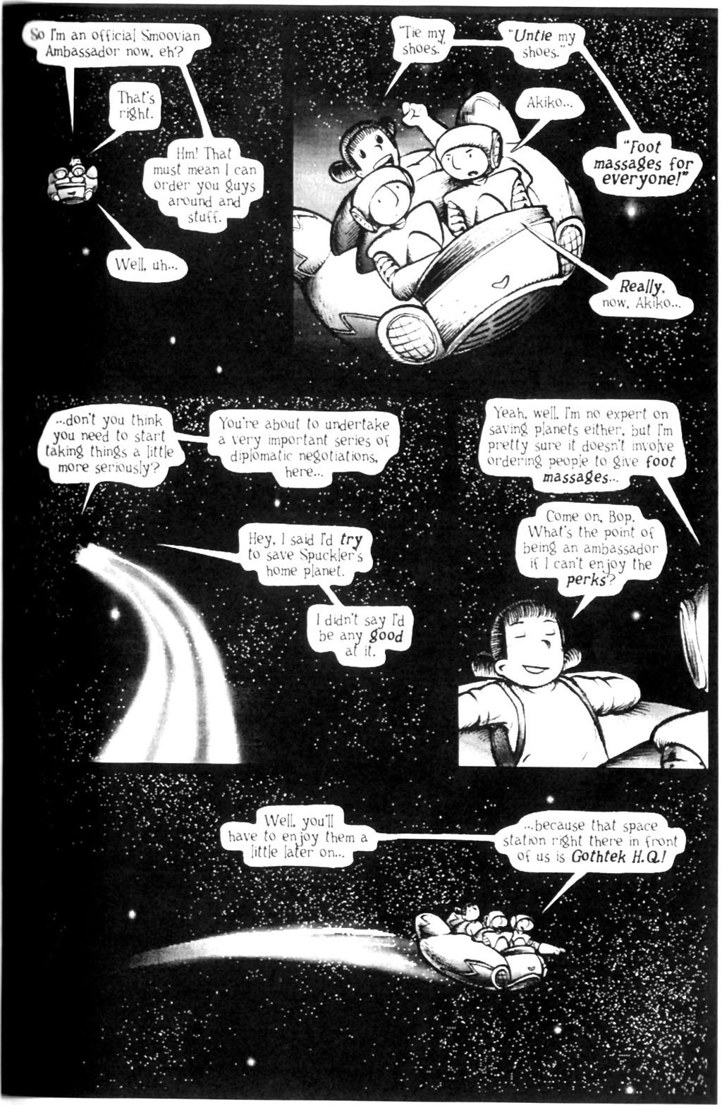 Read online Akiko comic -  Issue #Akiko _TPB 7 - 51