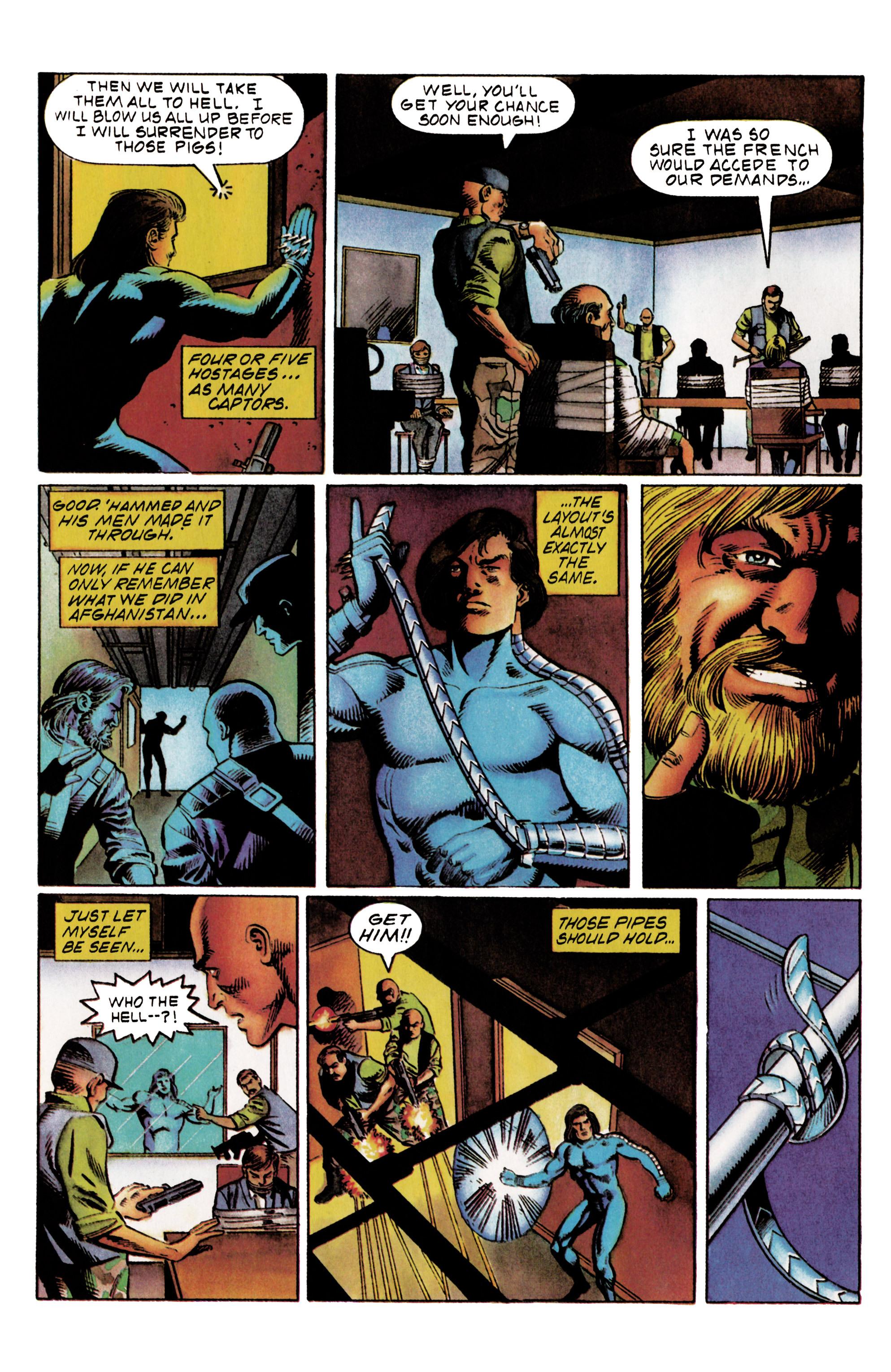 Read online Eternal Warrior (1992) comic -  Issue #20 - 20