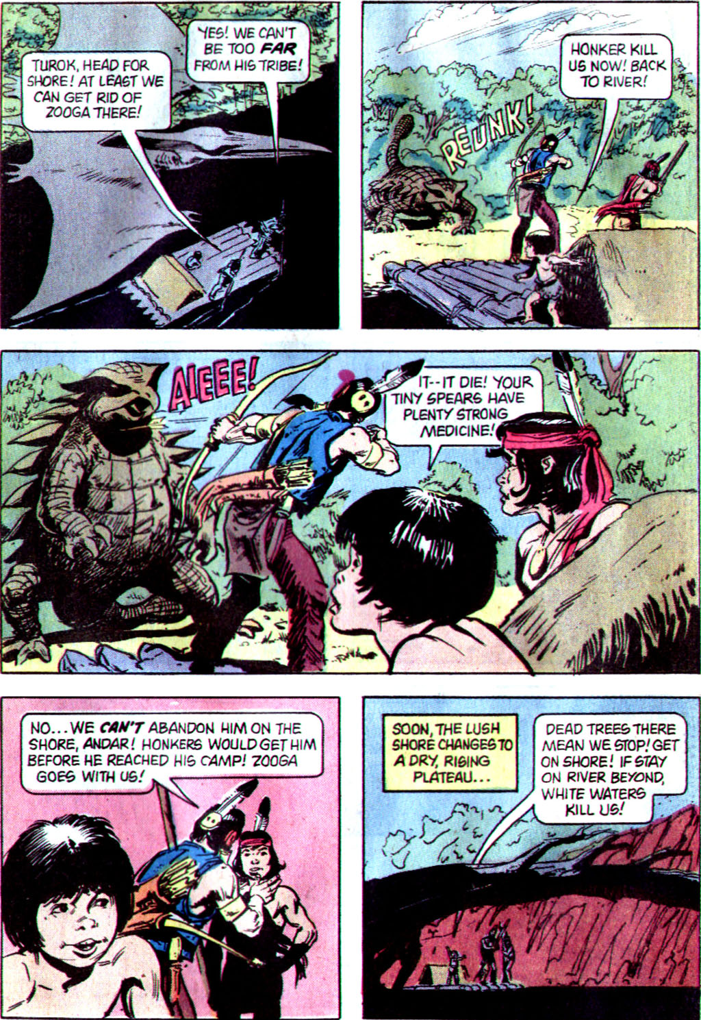 Read online Turok, Son of Stone comic -  Issue #122 - 27