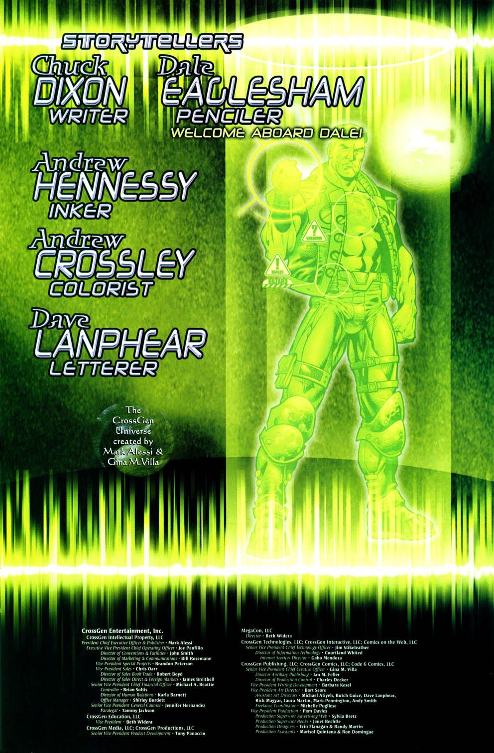 Read online Sigil (2000) comic -  Issue #36 - 23