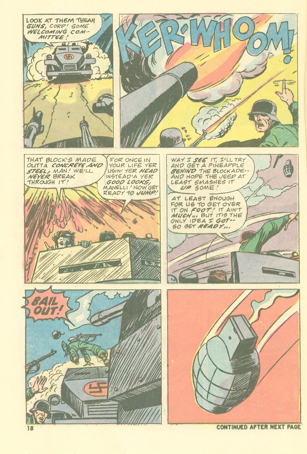 Read online Sgt. Fury comic -  Issue #115 - 20