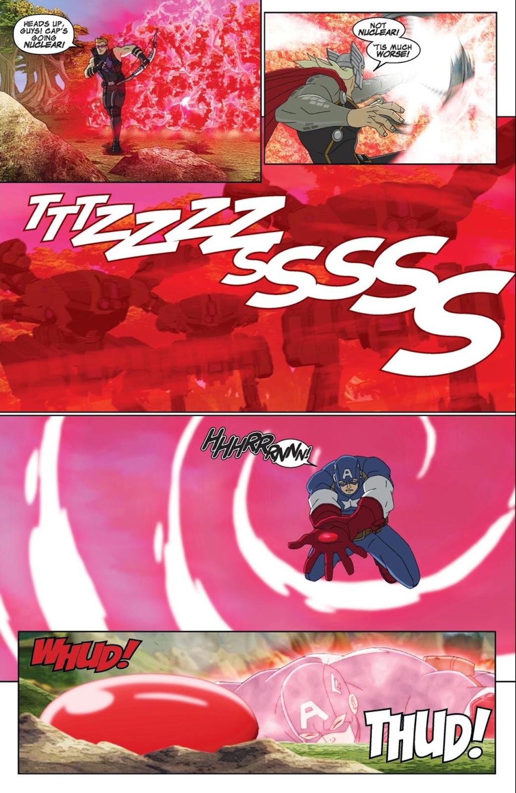 Read online Marvel Universe Avengers Assemble Season 2 comic -  Issue #1 - 9