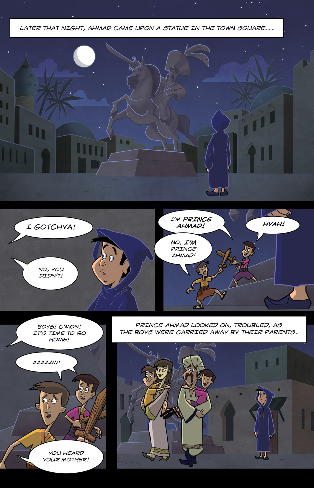 Read online 1001 Nights comic -  Issue #7 - 18