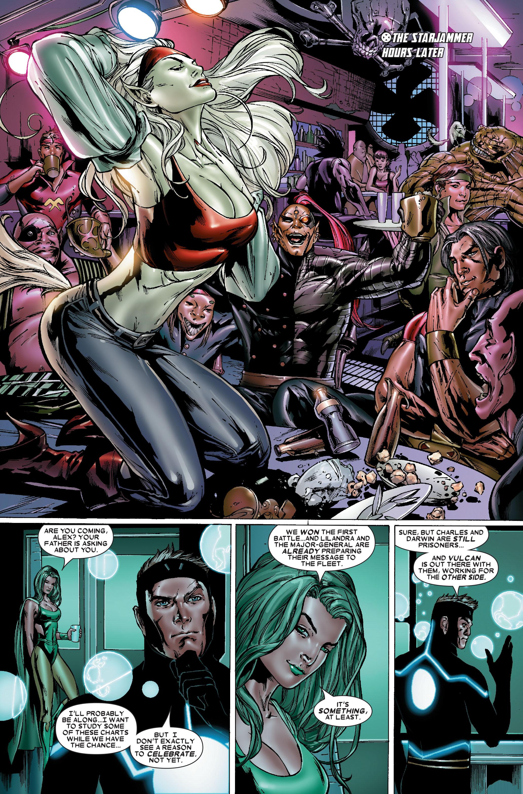 Read online Uncanny X-Men (1963) comic -  Issue #484 - 19