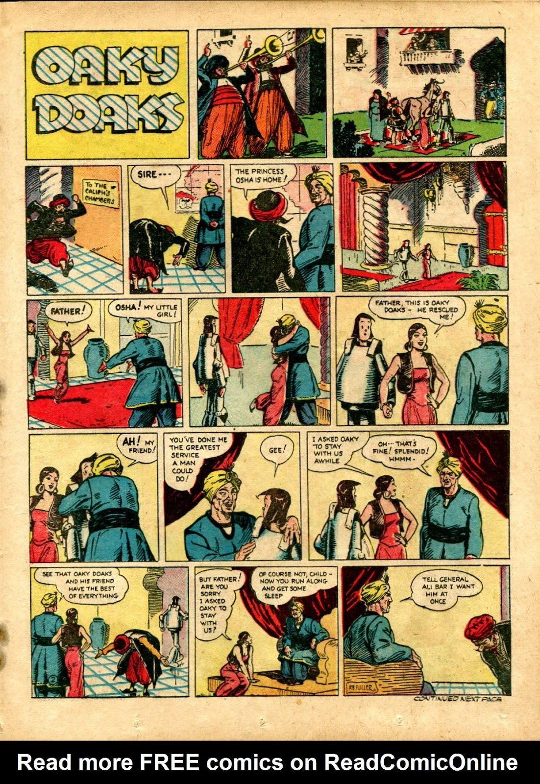 Read online Famous Funnies comic -  Issue #72 - 39