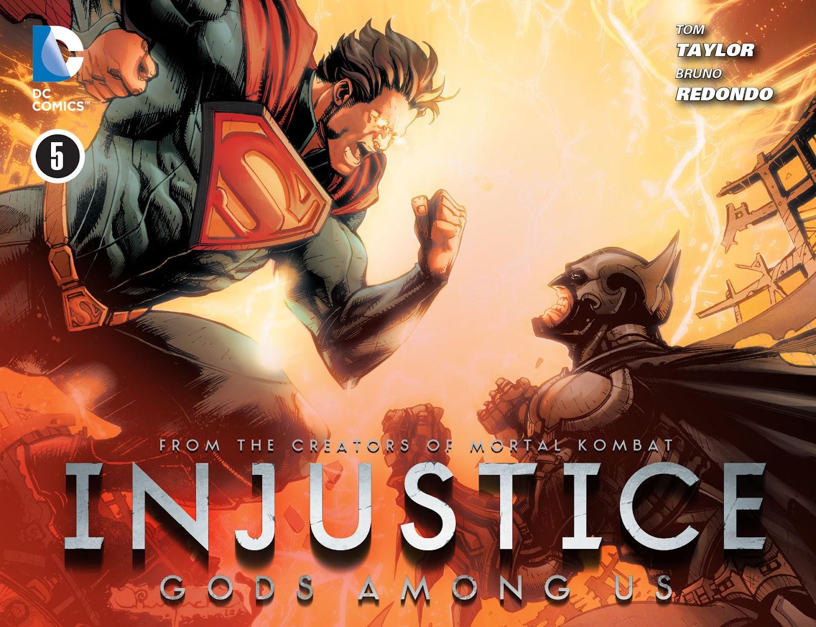 Injustice: Gods Among Us [I] issue 05 - Page 1