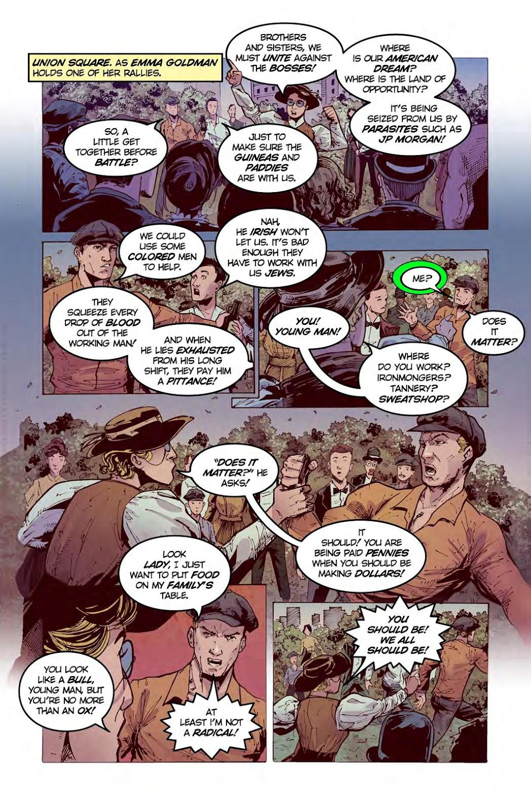Read online American Dreams comic -  Issue #1 - 12