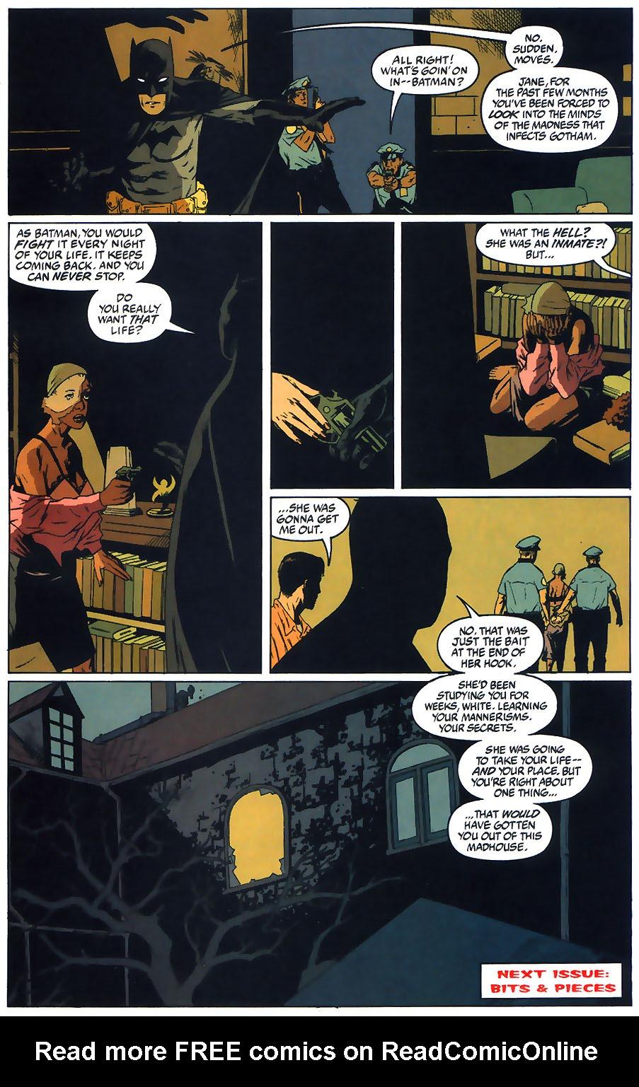 Read online Arkham Asylum: Living Hell comic -  Issue #1 - 25