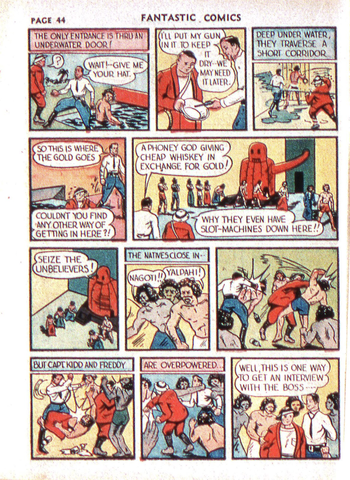 Read online Fantastic Comics comic -  Issue #2 - 45