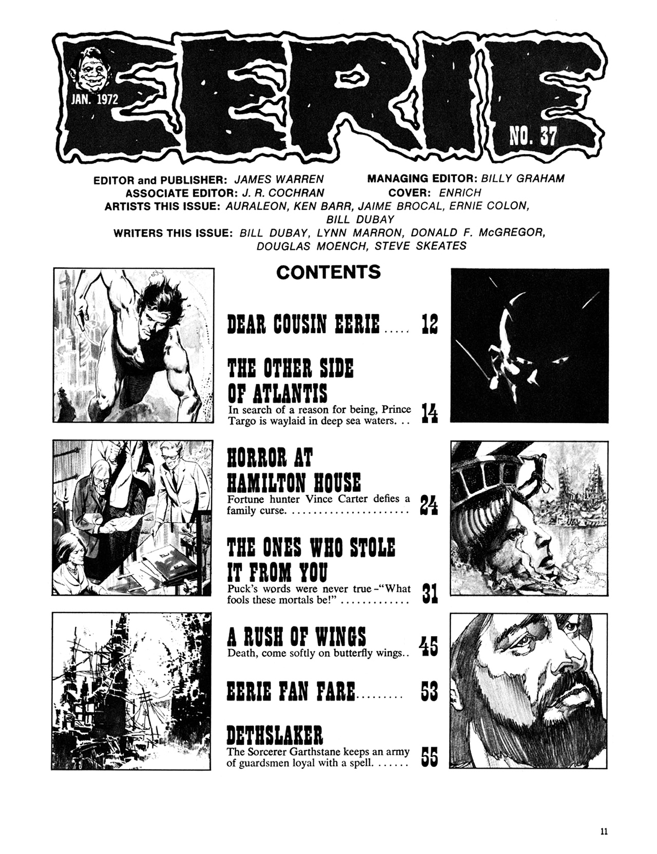 Read online Eerie Archives comic -  Issue # TPB 8 - 12