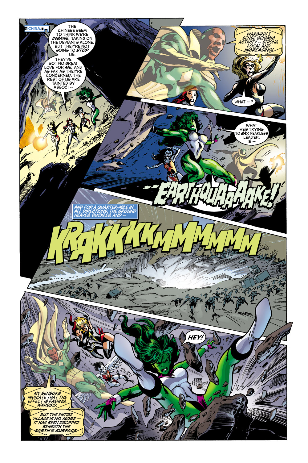 Read online Avengers (1998) comic -  Issue #43 - 19