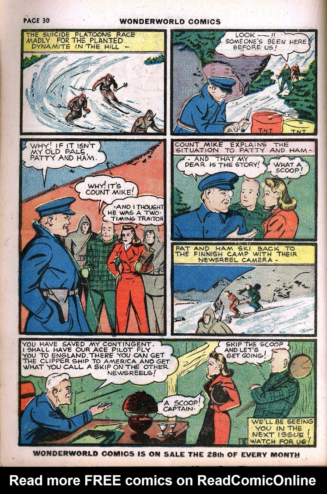 Wonderworld Comics issue 14 - Page 32