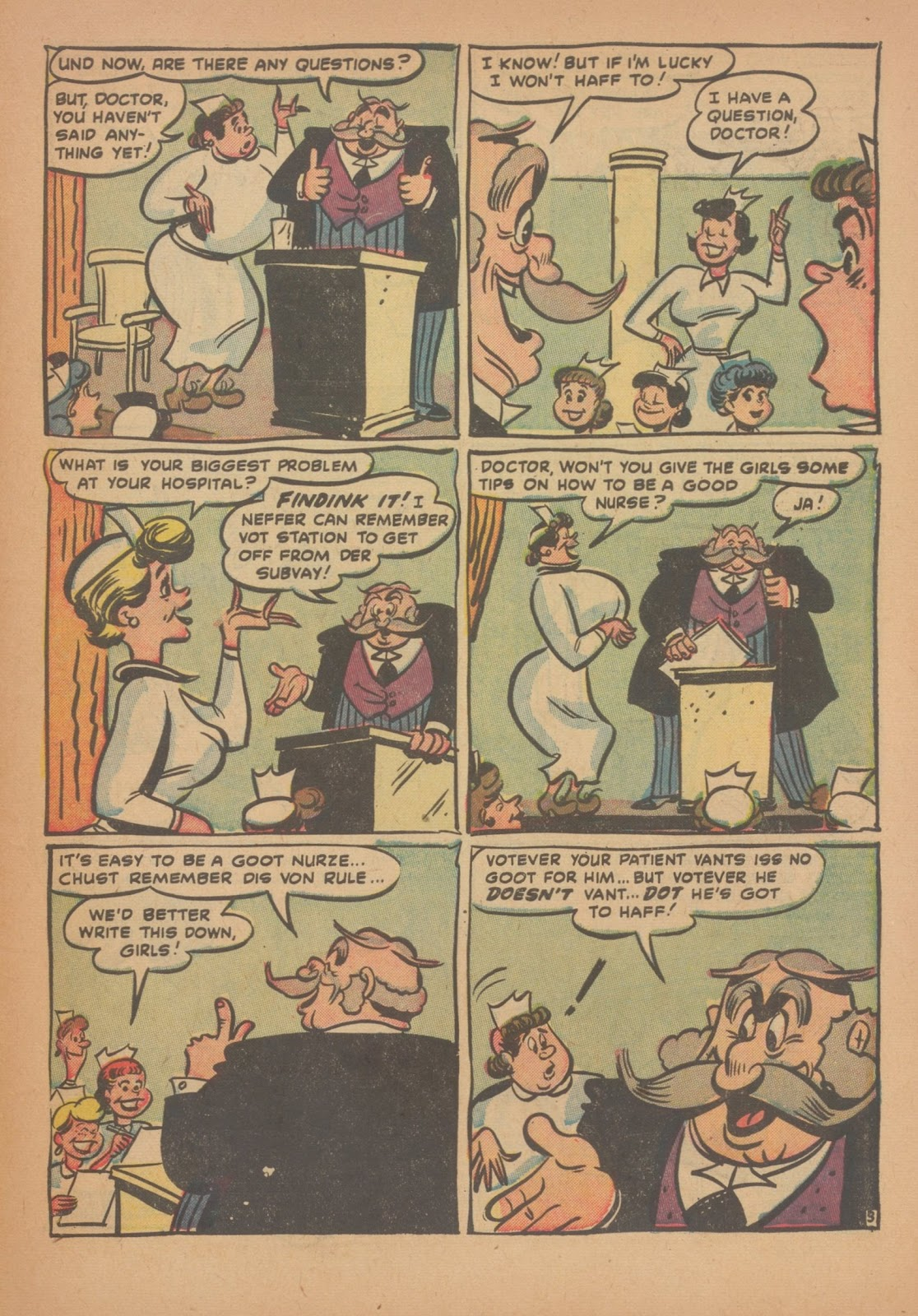Read online Nellie The Nurse (1945) comic -  Issue #34 - 31