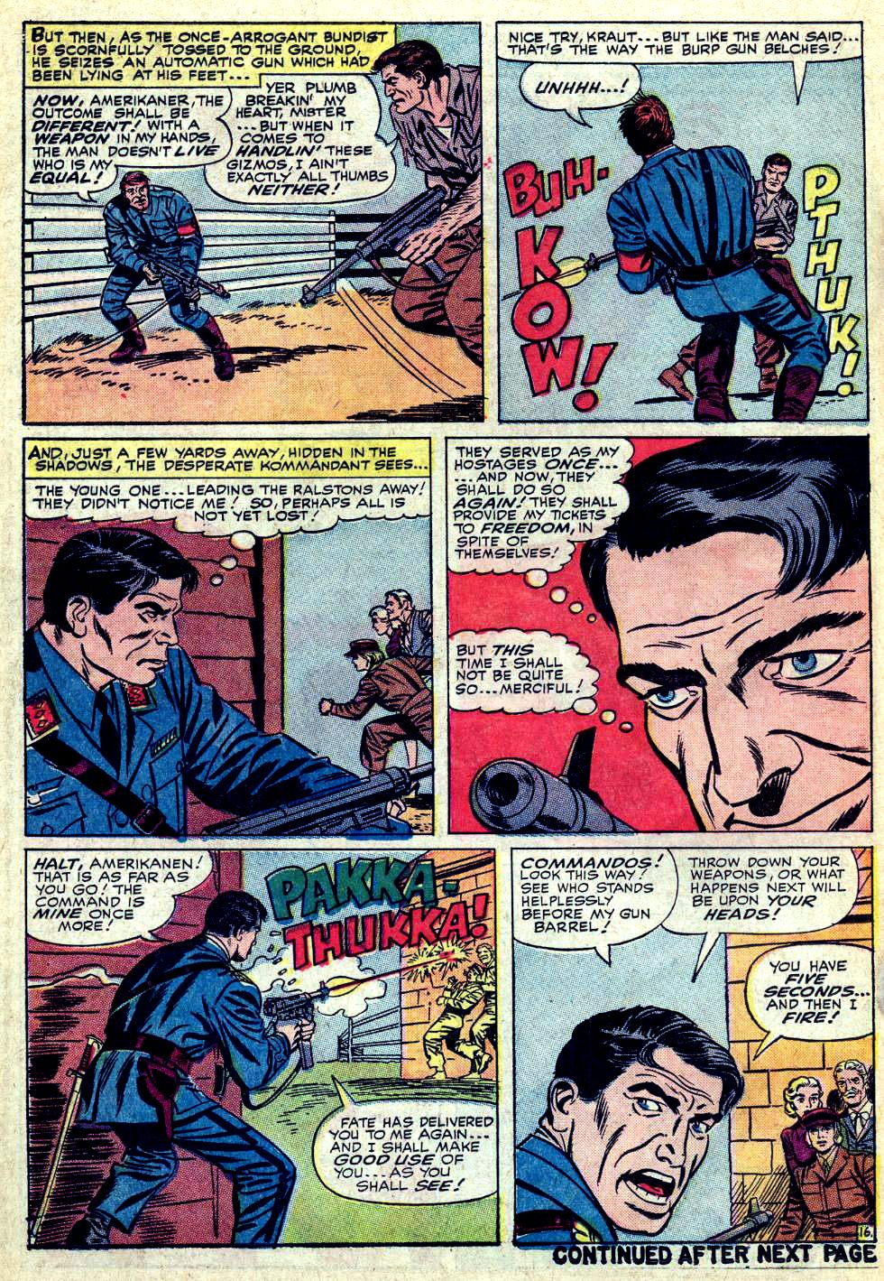 Read online Sgt. Fury comic -  Issue #24 - 22