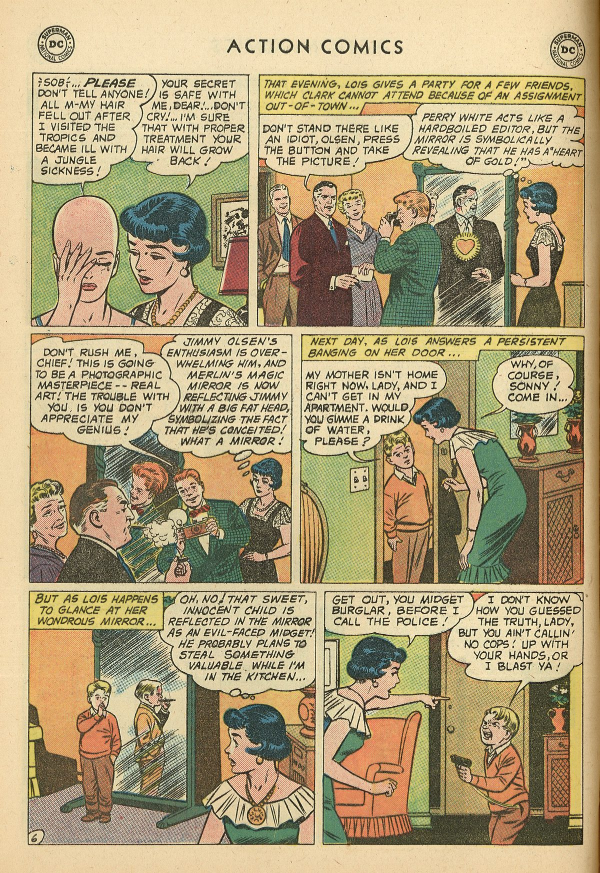 Read online Action Comics (1938) comic -  Issue #269 - 8