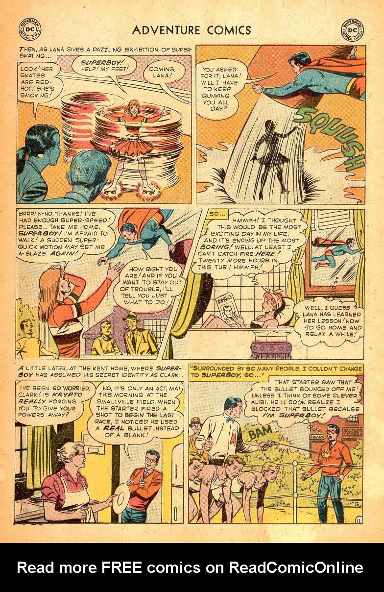 Read online Adventure Comics (1938) comic -  Issue #254 - 13