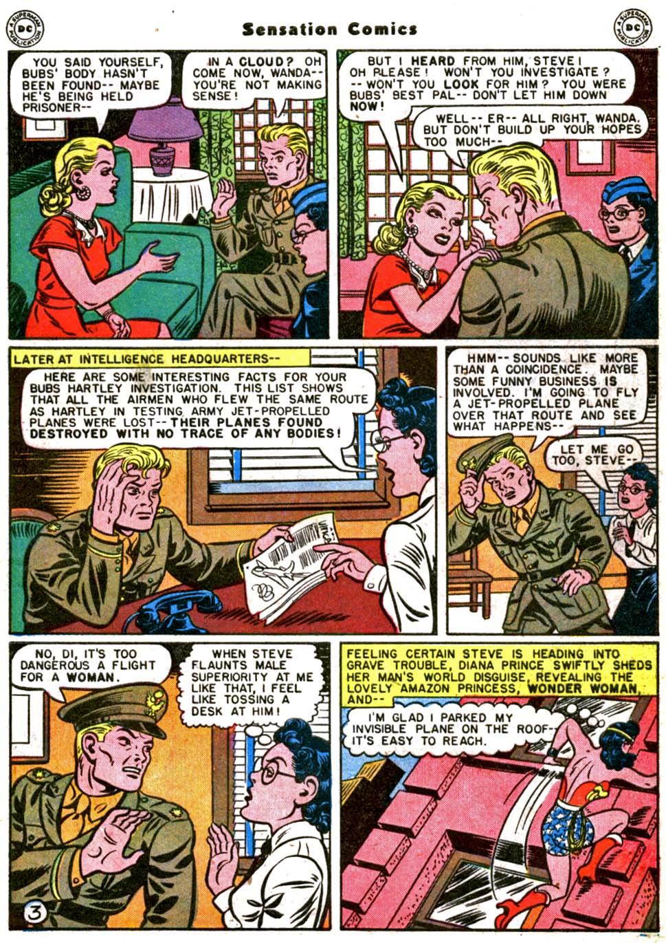 Read online Sensation (Mystery) Comics comic -  Issue #64 - 5