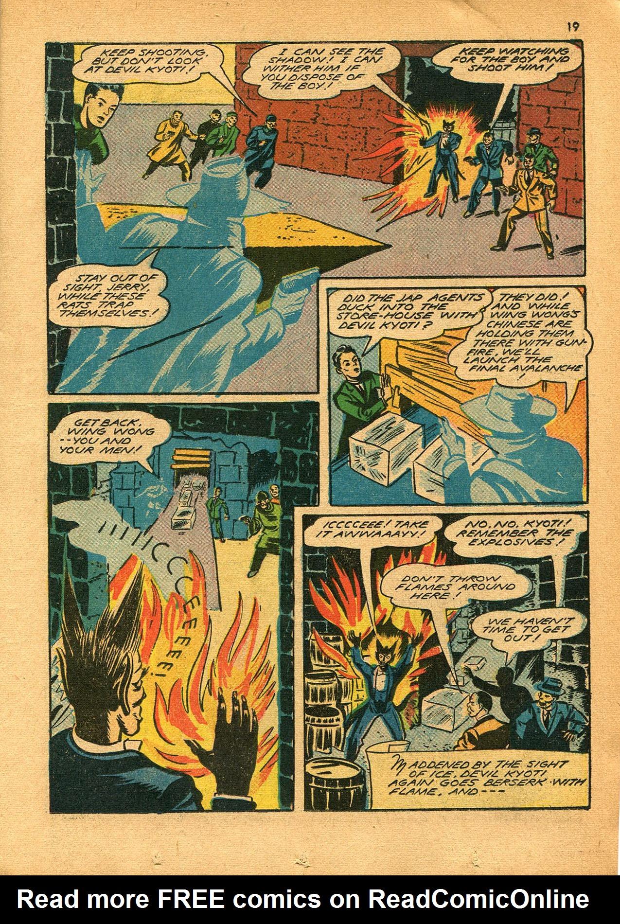Read online Shadow Comics comic -  Issue #23 - 19