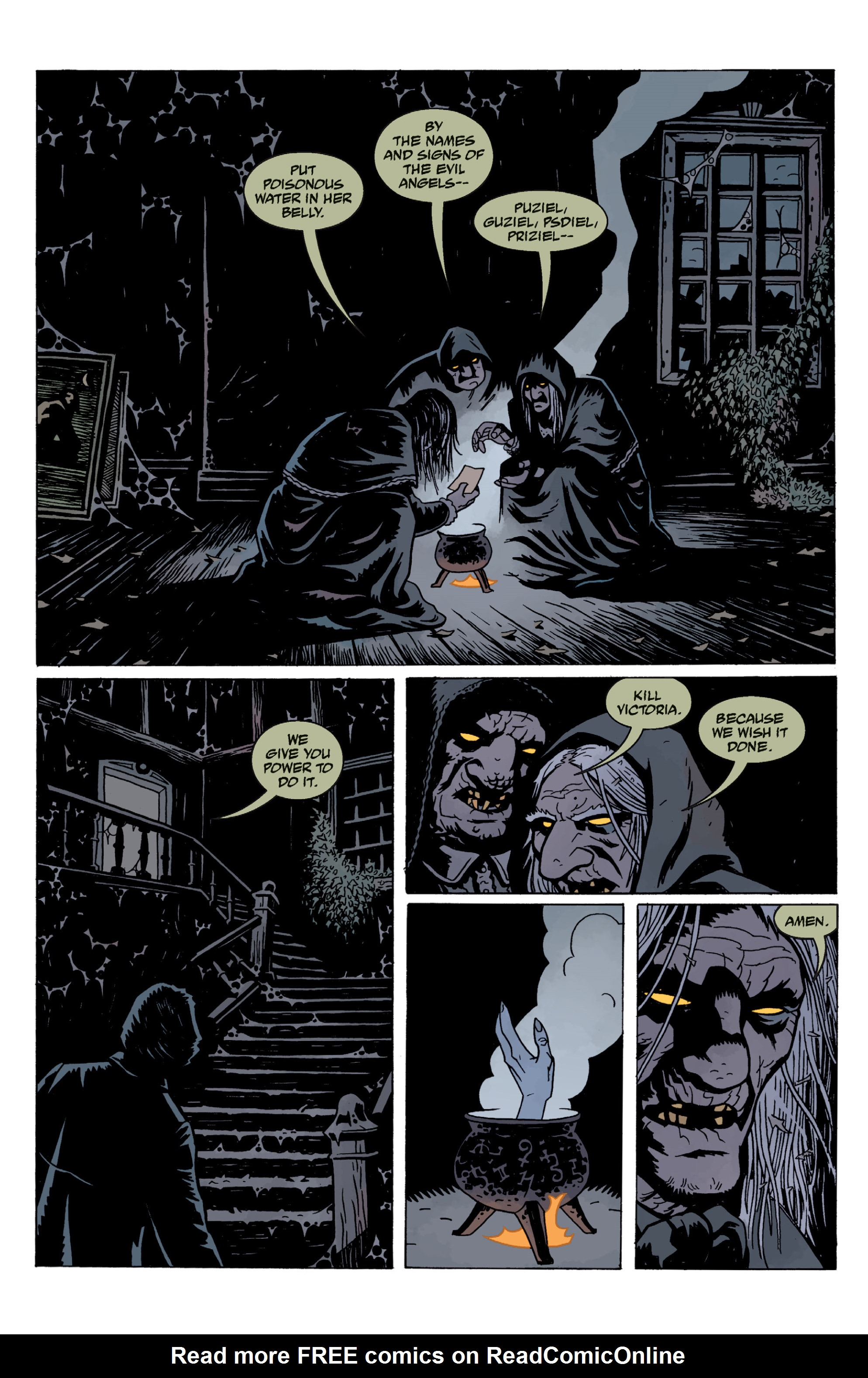Read online Sir Edward Grey, Witchfinder: In the Service of Angels comic -  Issue # TPB - 130
