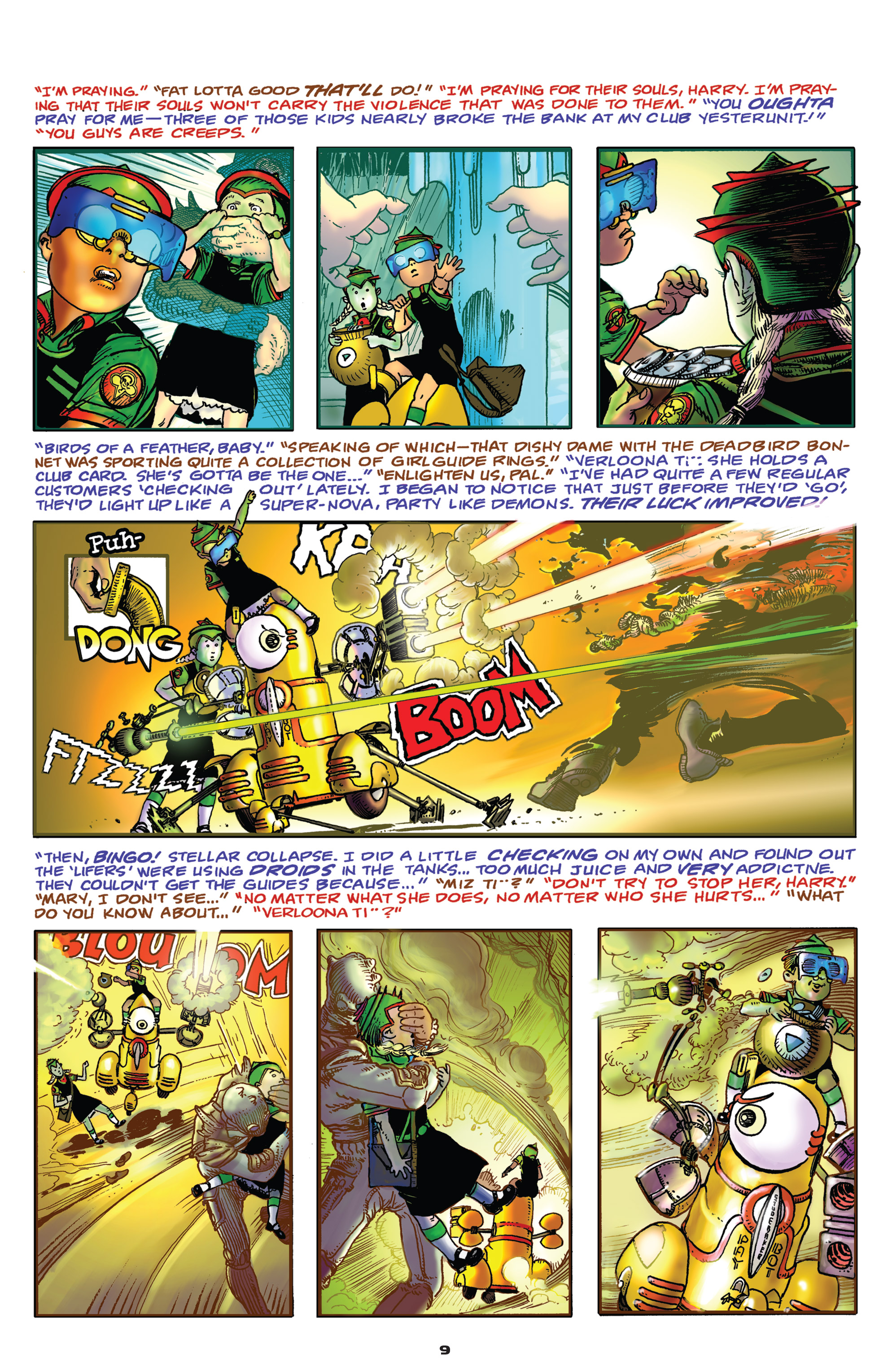 Read online Starstruck: Old Proldiers Never Die comic -  Issue #4 - 10
