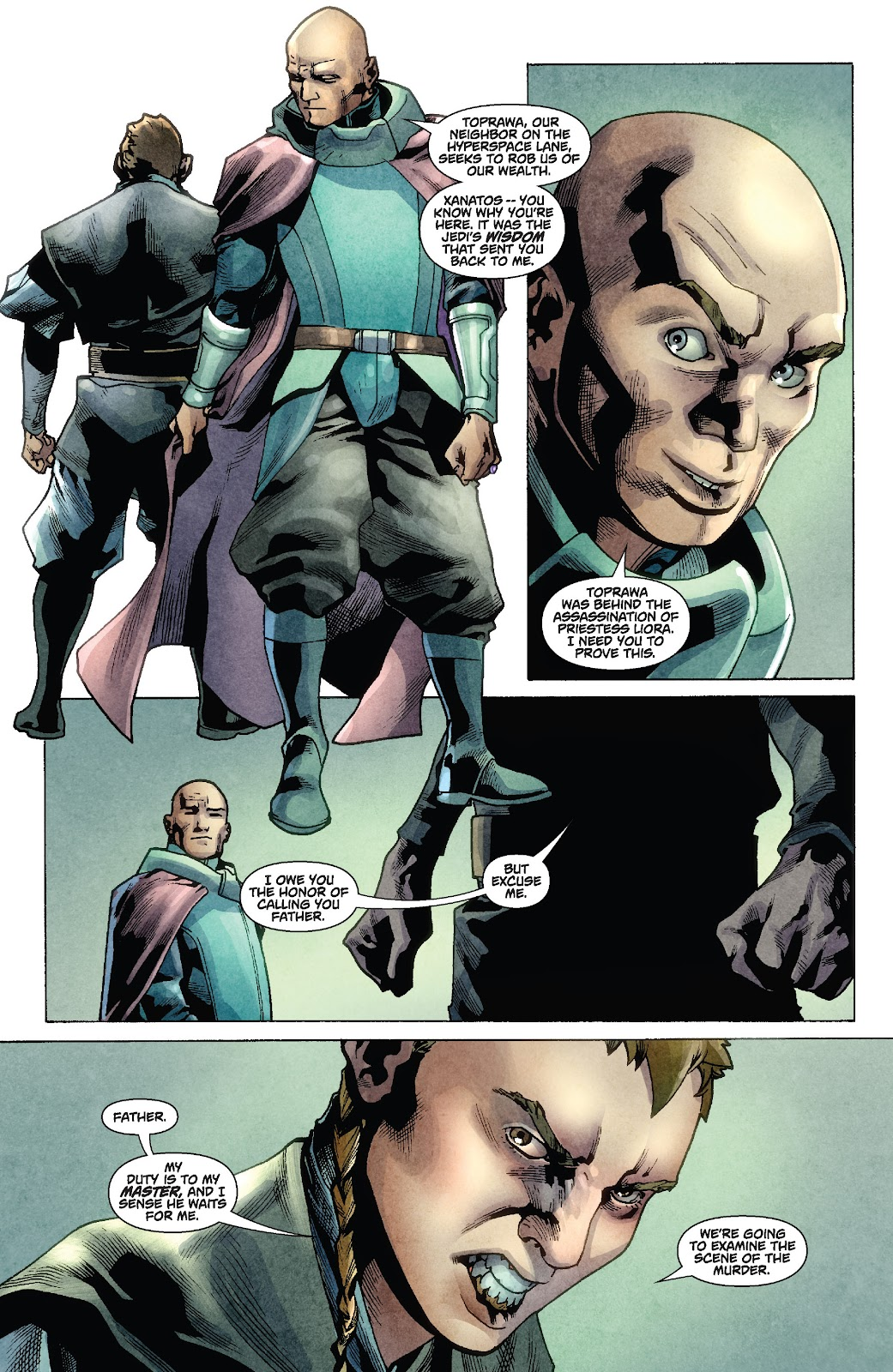 Read online Star Wars Legends: Rise of the Sith - Epic Collection comic -  Issue # TPB 1 (Part 2) - 15