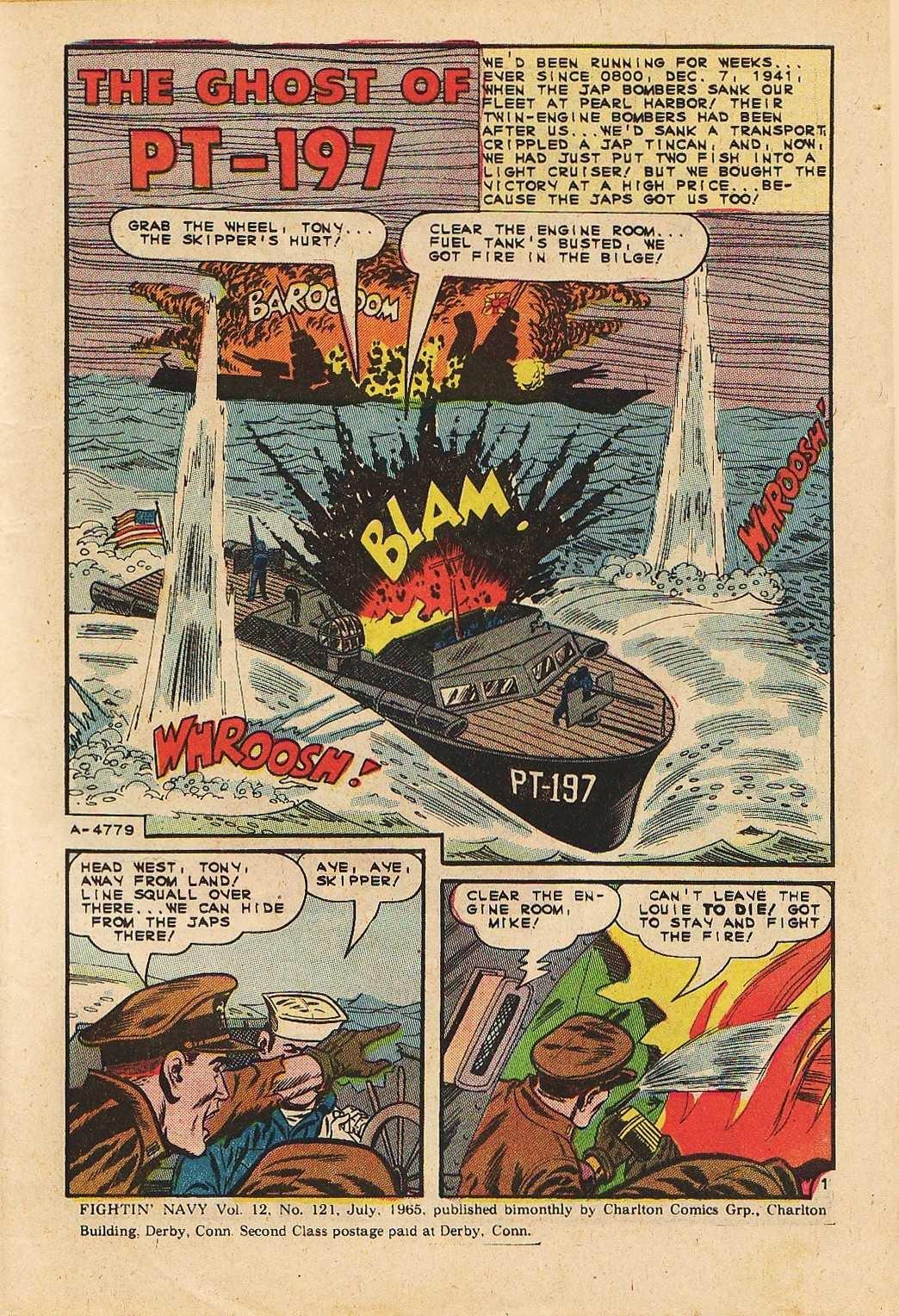 Read online Fightin' Navy comic -  Issue #121 - 3