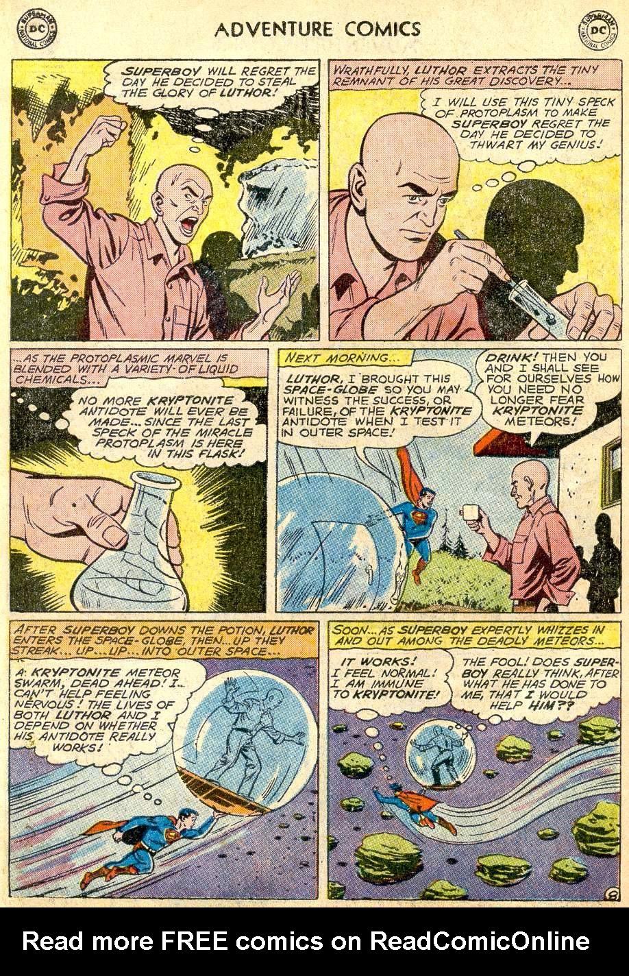 Read online Adventure Comics (1938) comic -  Issue #271 - 10