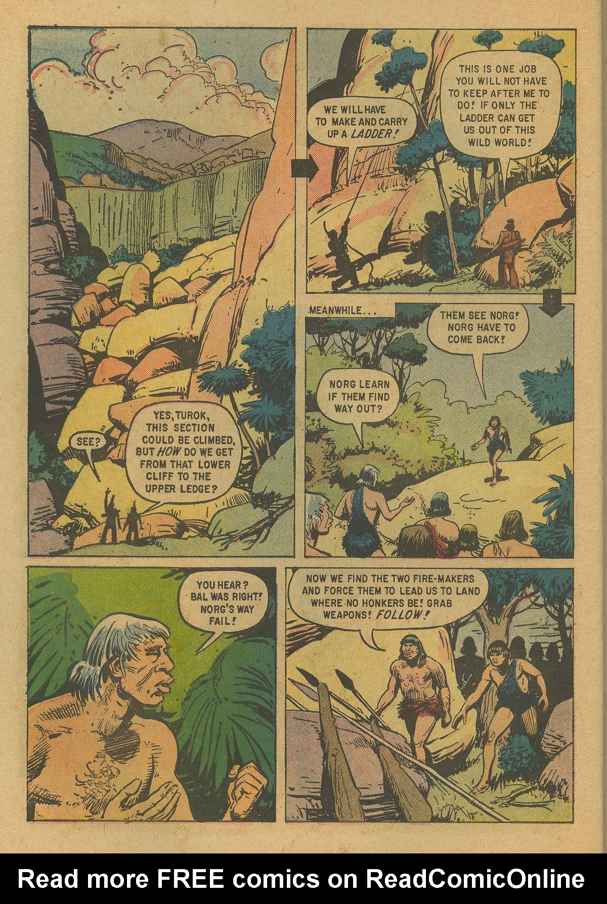 Read online Turok, Son of Stone comic -  Issue #19 - 10