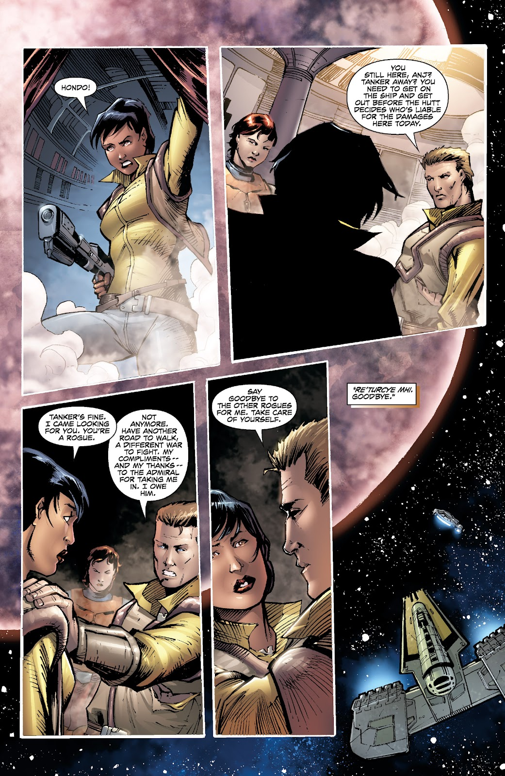 Read online Star Wars Legends: Legacy - Epic Collection comic -  Issue # TPB 2 (Part 5) - 34