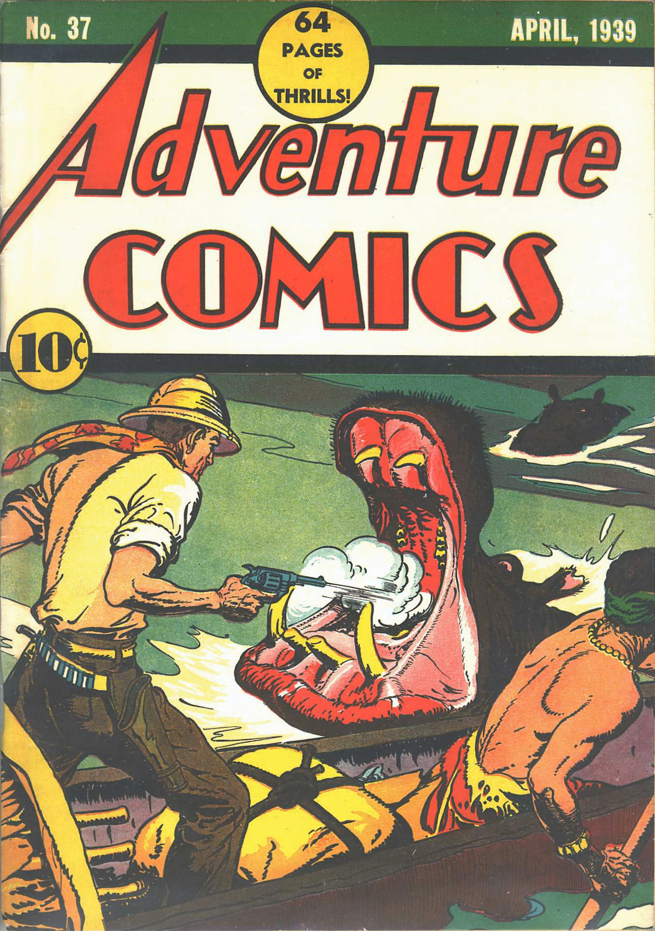 Read online Adventure Comics (1938) comic -  Issue #37 - 2