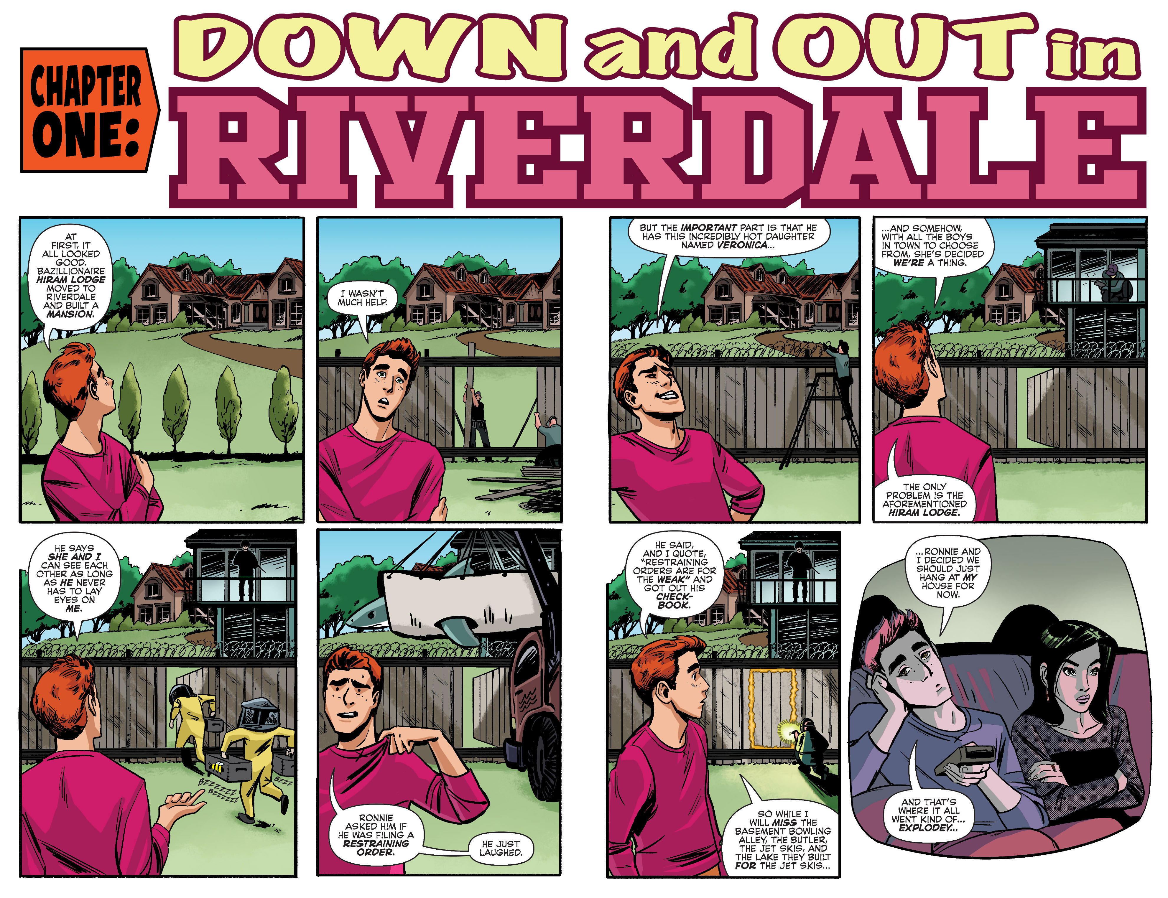 Read online Archie (2015) comic -  Issue #9 - 4