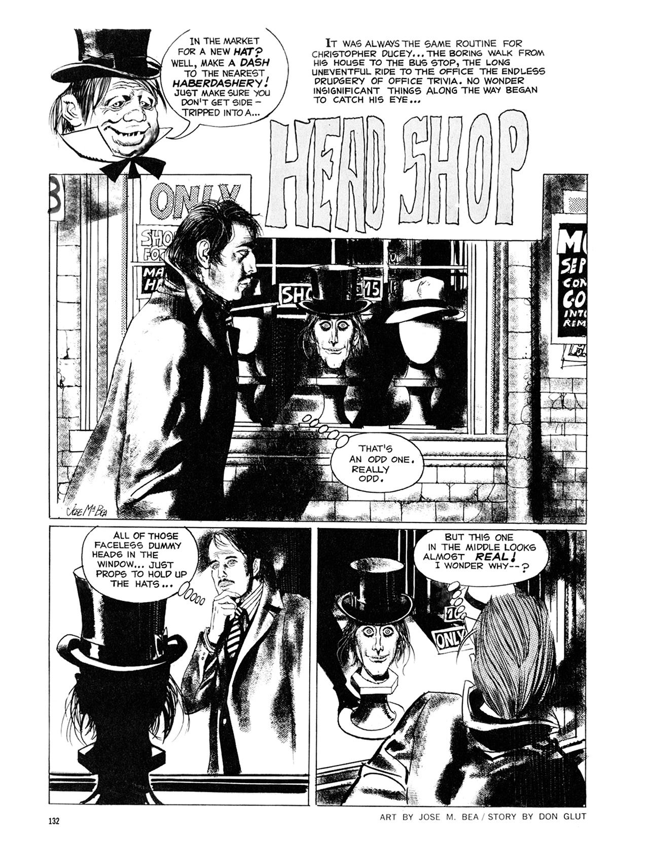 Read online Eerie Archives comic -  Issue # TPB 8 - 133
