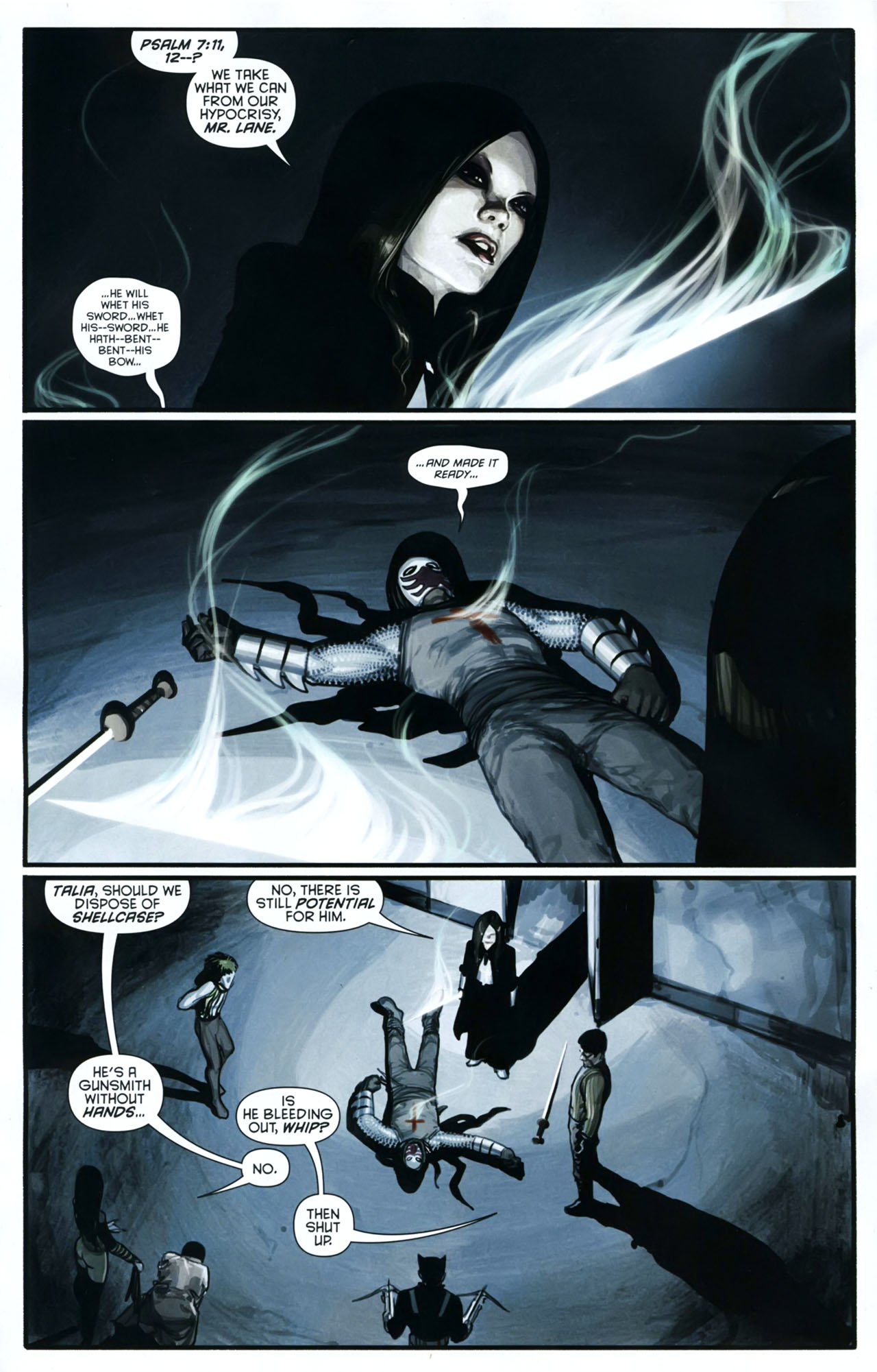 Read online Azrael: Death's Dark Knight comic -  Issue #2 - 5