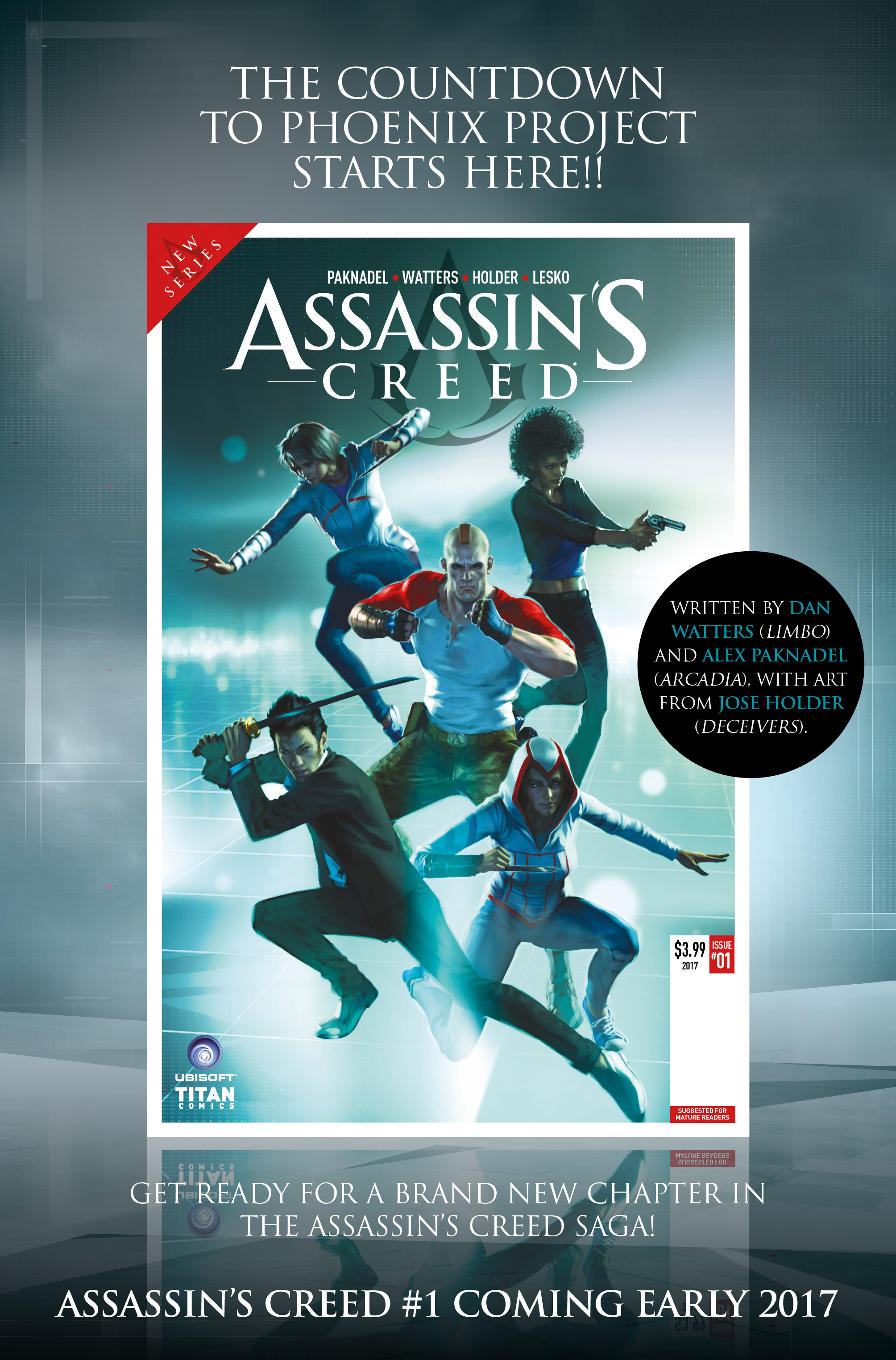 Read online Assassin's Creed (2015) comic -  Issue #13 - 34