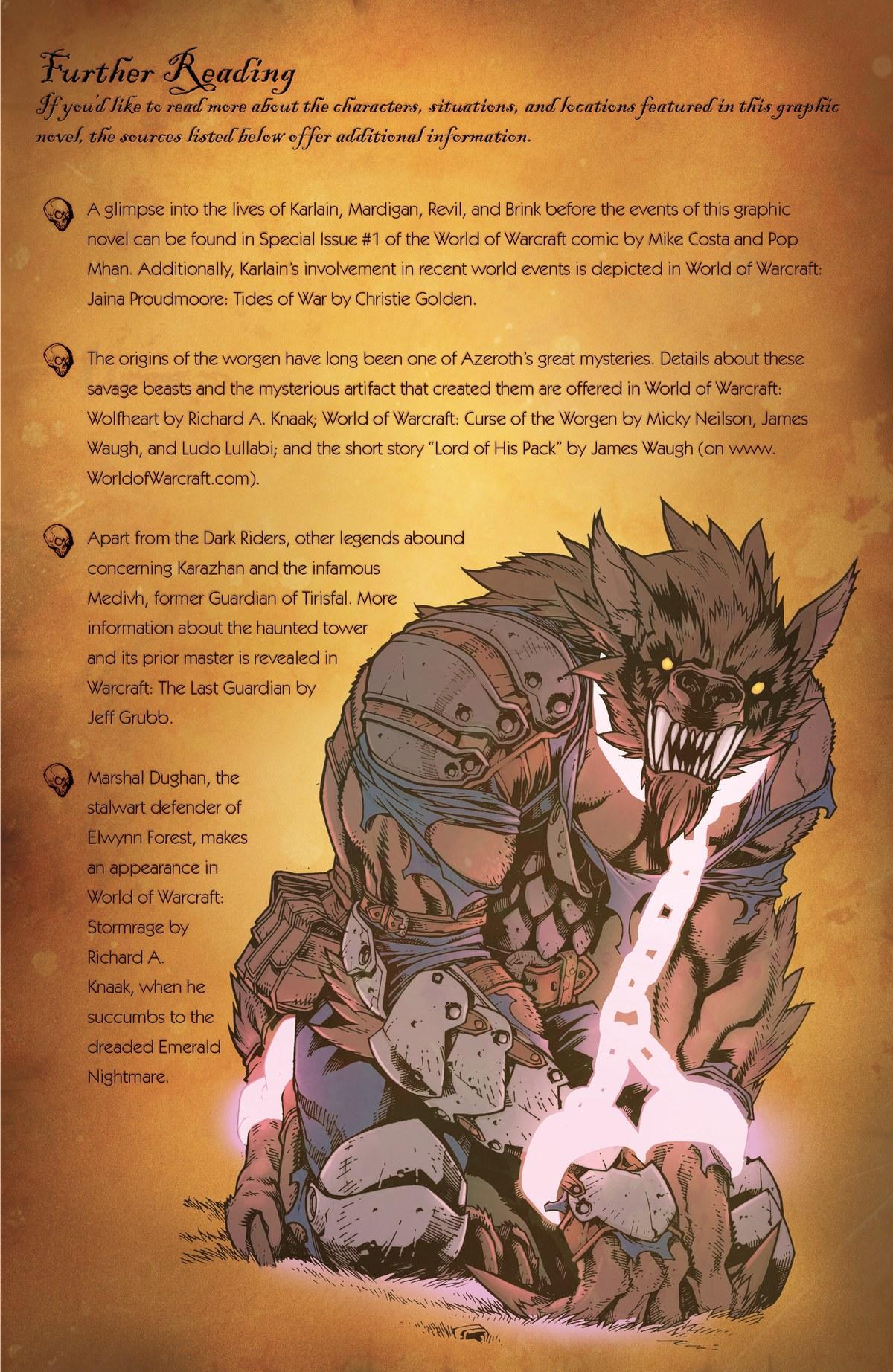 Read online World of Warcraft: Dark Riders comic -  Issue # Full - 139