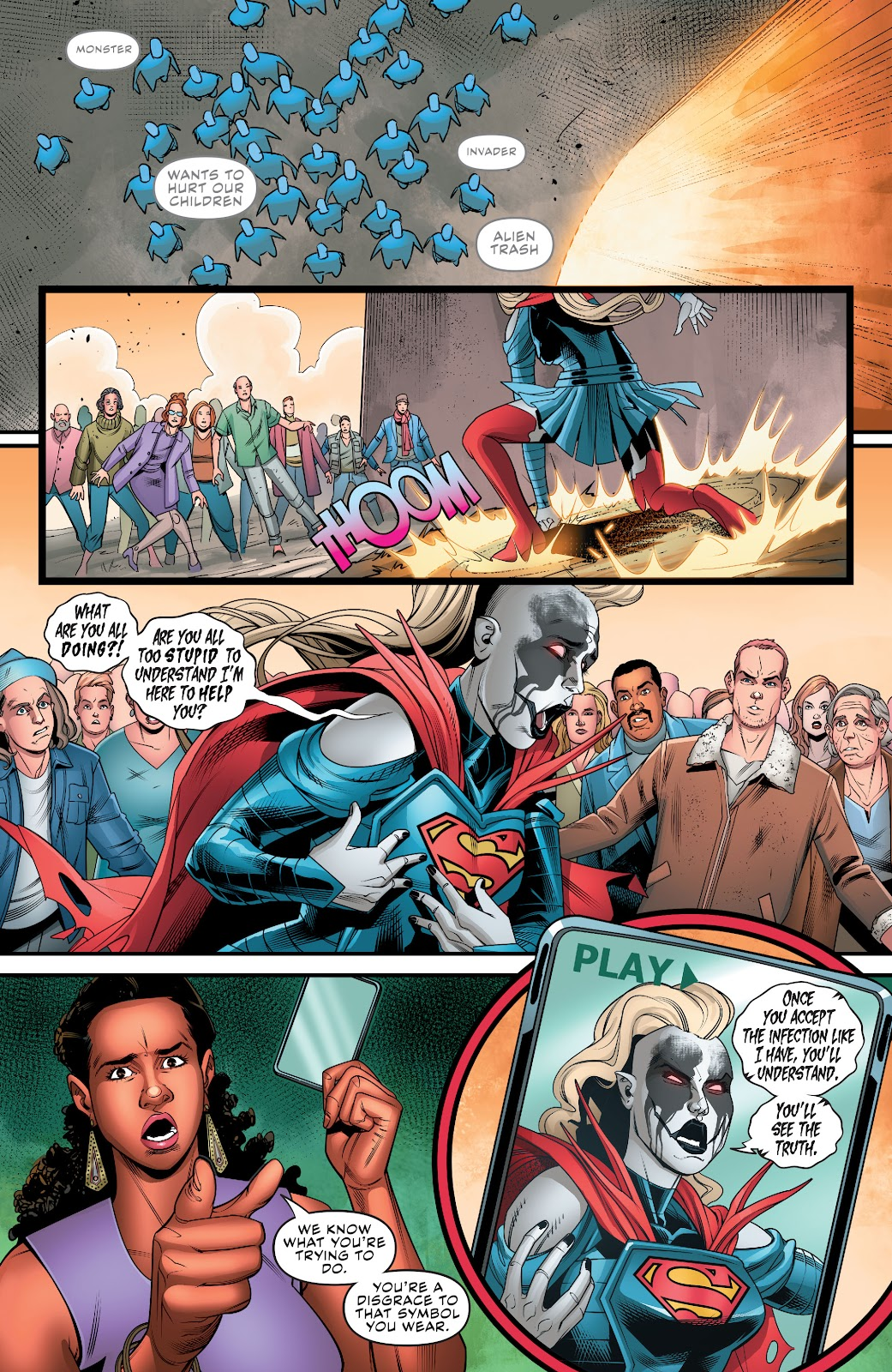 Read online Supergirl (2016) comic -  Issue #38 - 13