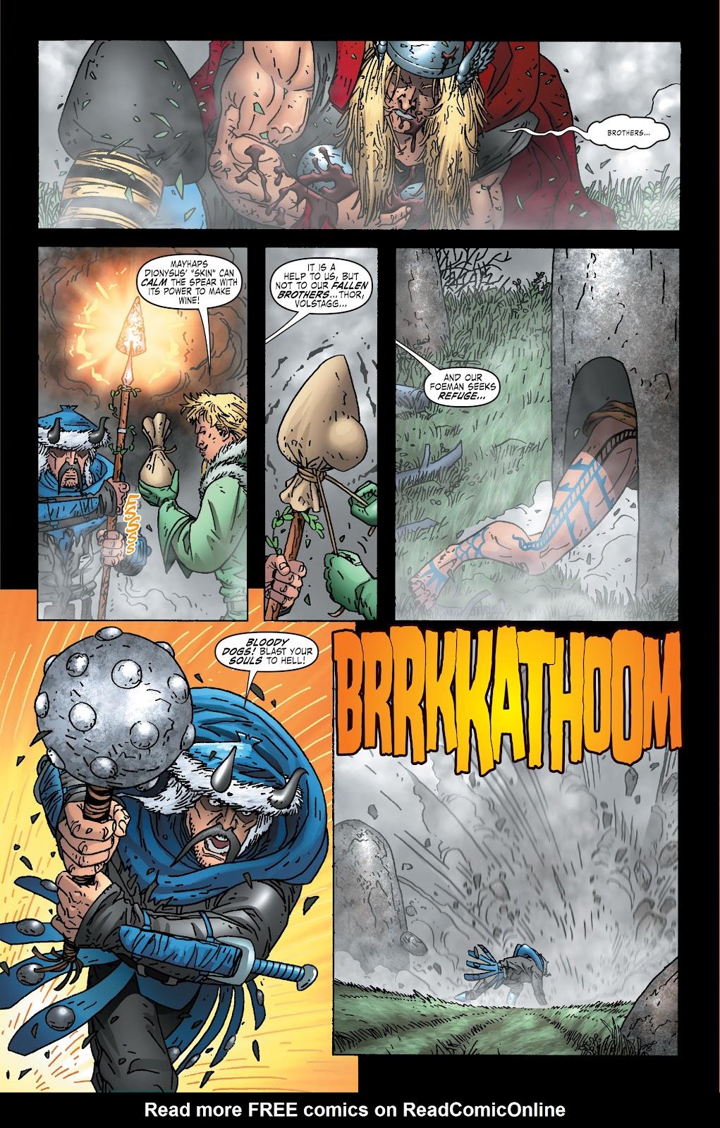 Read online Thor: Ragnaroks comic -  Issue # TPB (Part 1) - 100