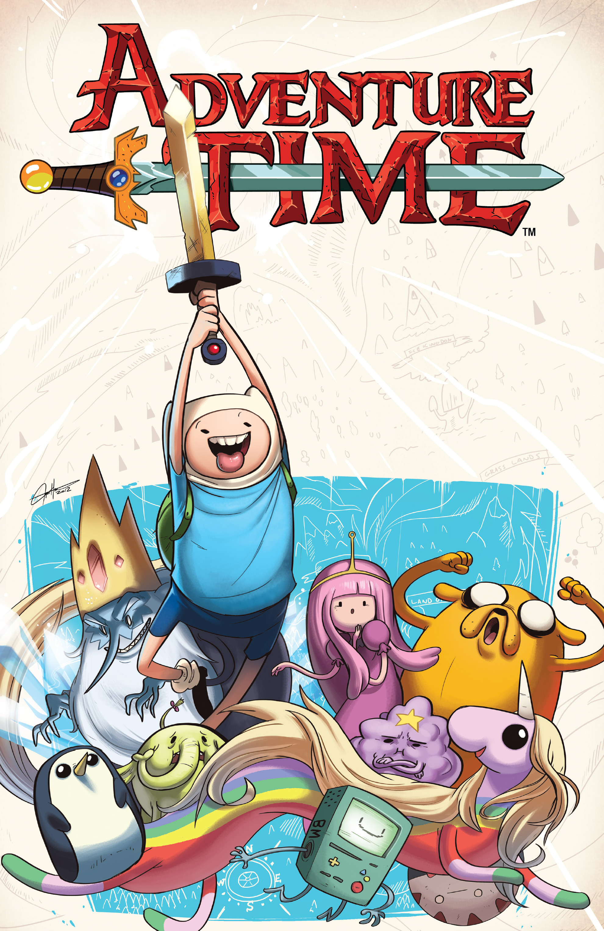 Read online Adventure Time comic -  Issue #Adventure Time _TPB 3 - 1