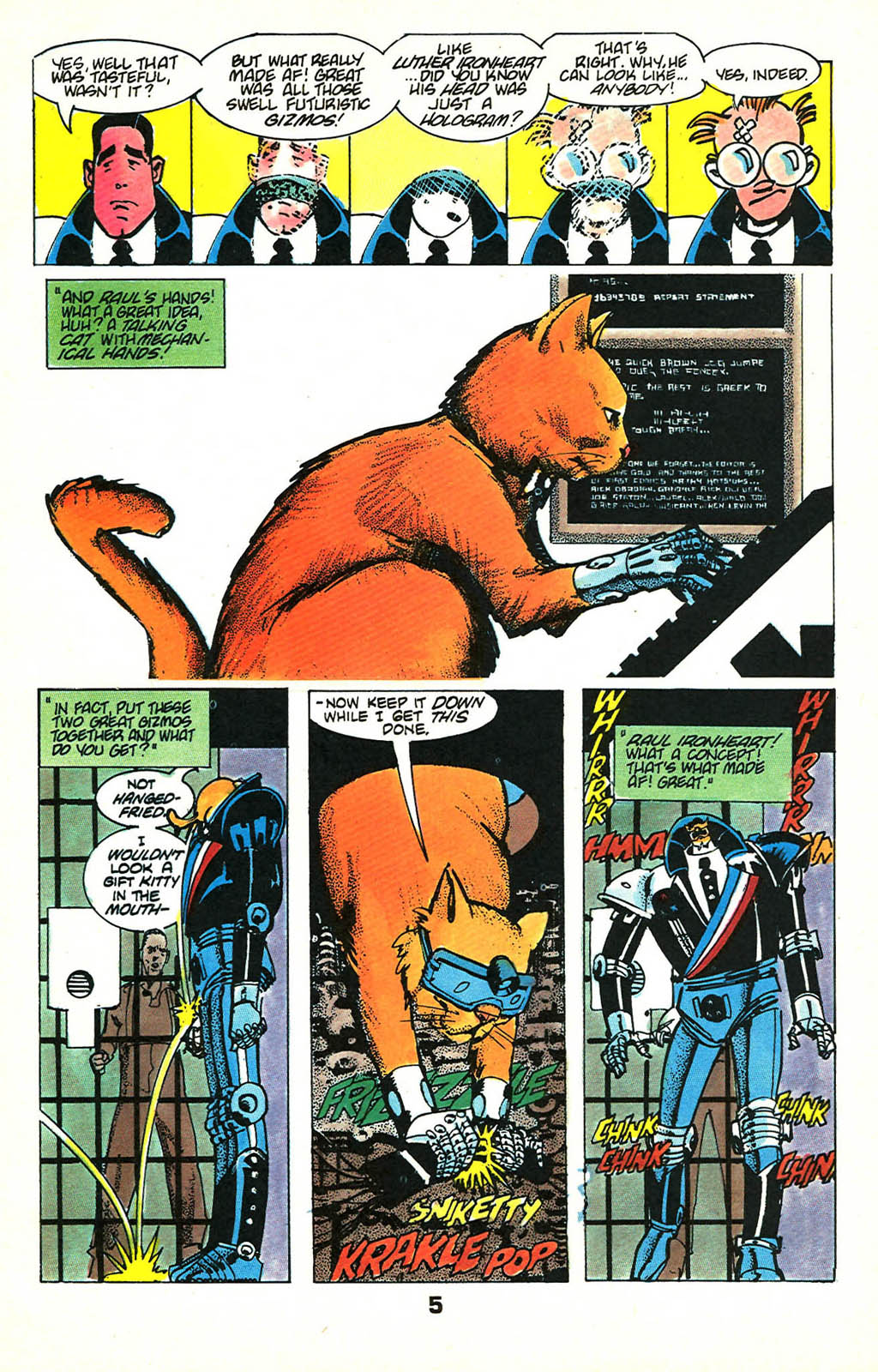 Read online American Flagg! comic -  Issue #46 - 7